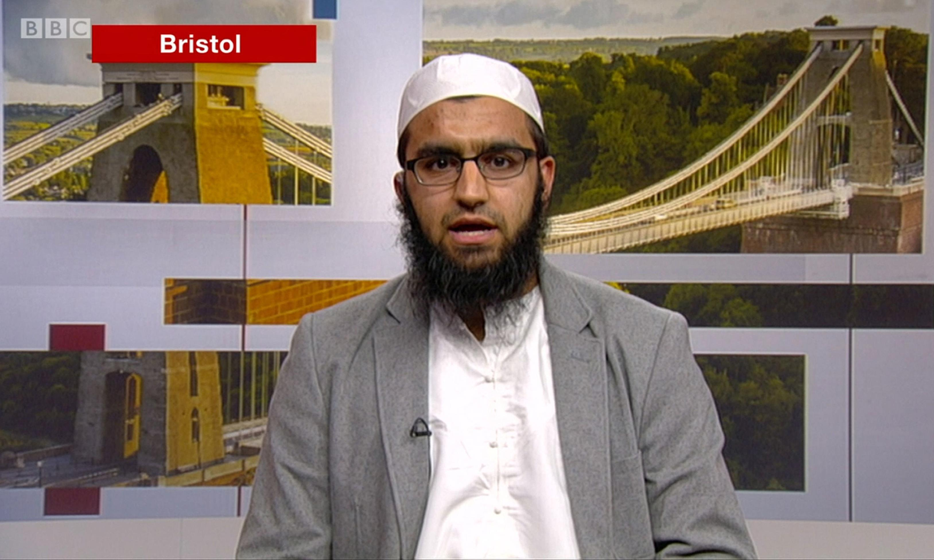 Mosque and school suspend imam after BBC Tory debate