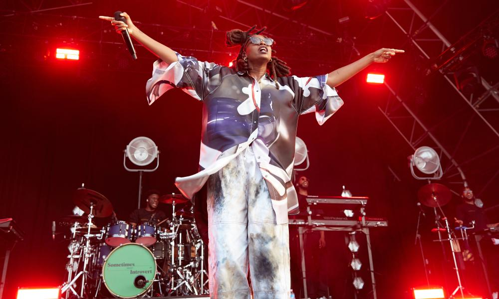Little Simz, who has released music through AWAL, performs at the End of the Road festival.