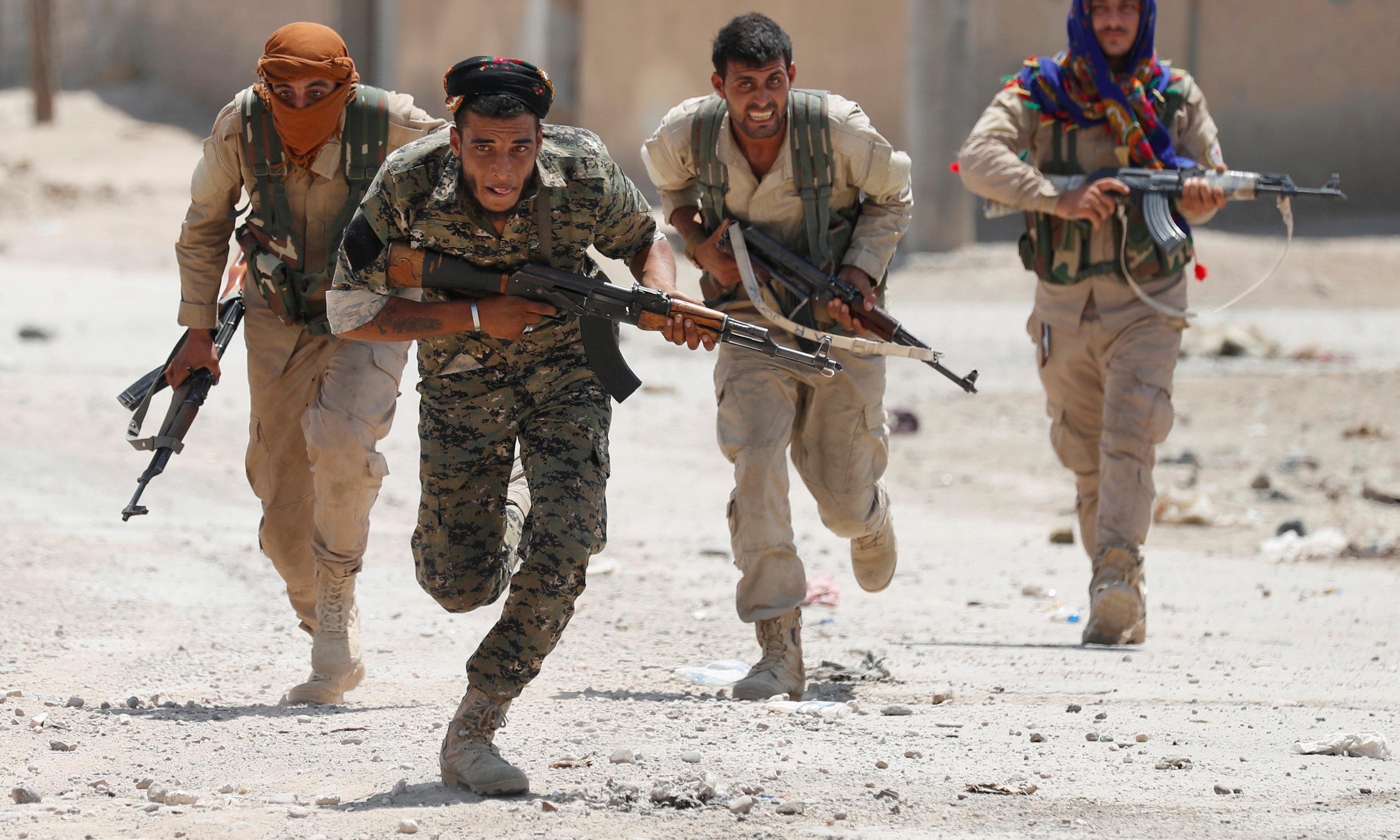 Kurdish forces in Syria will no longer prioritise guarding Isis prisons