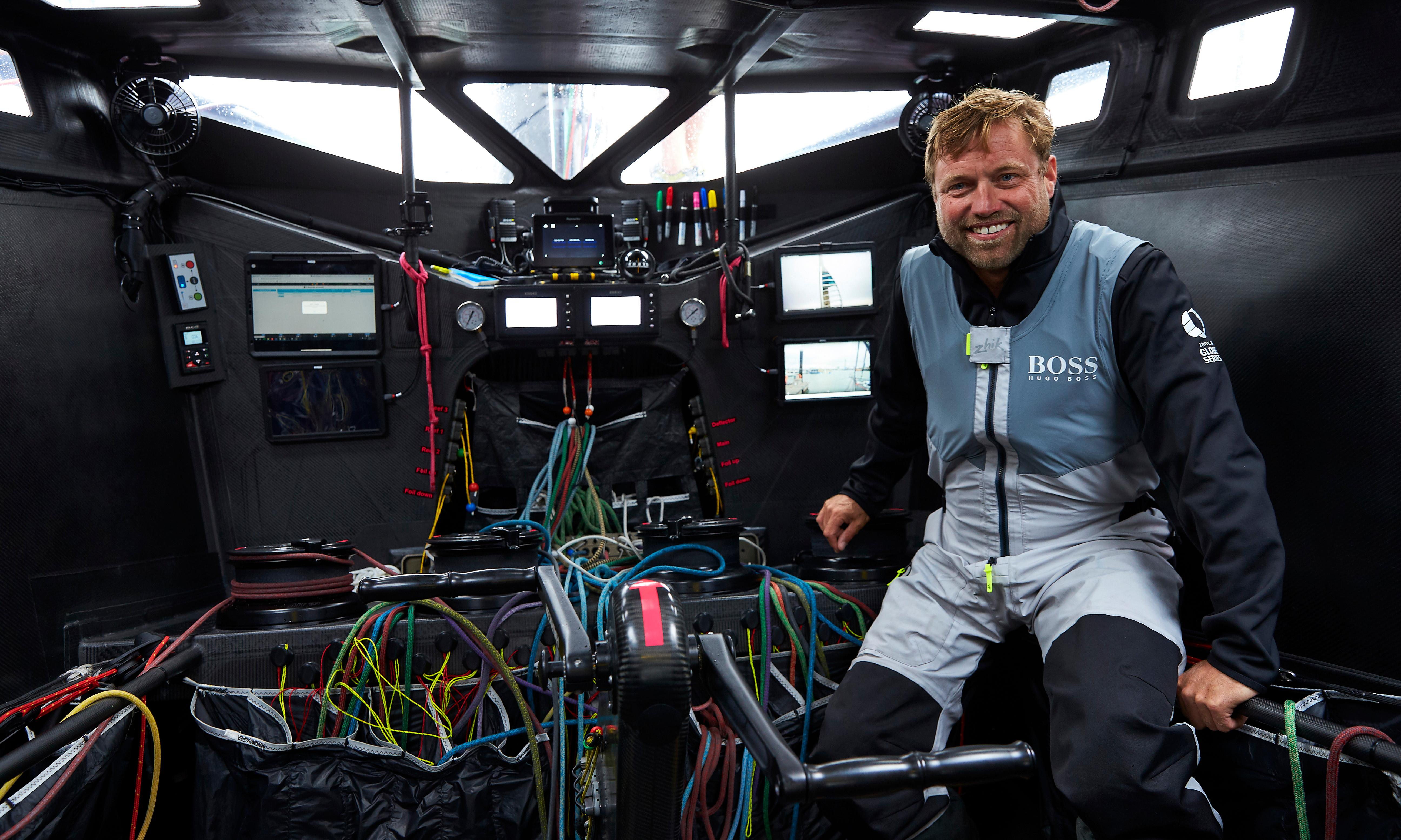 Round-the-world sailor Alex Thomson: 'I think the French are worried about us'