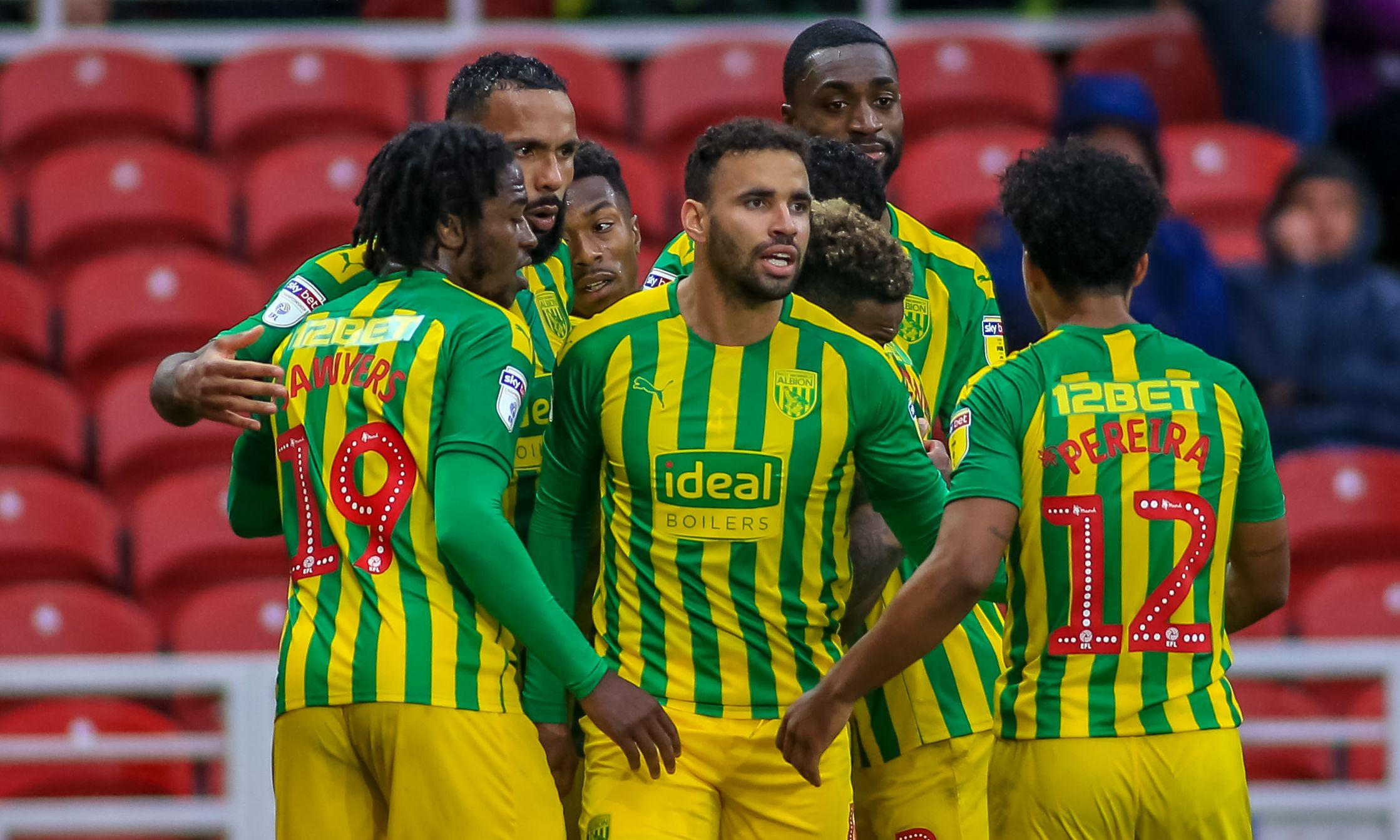 Hal Robson-Kanu strikes late against Middlesbrough to put West Brom top