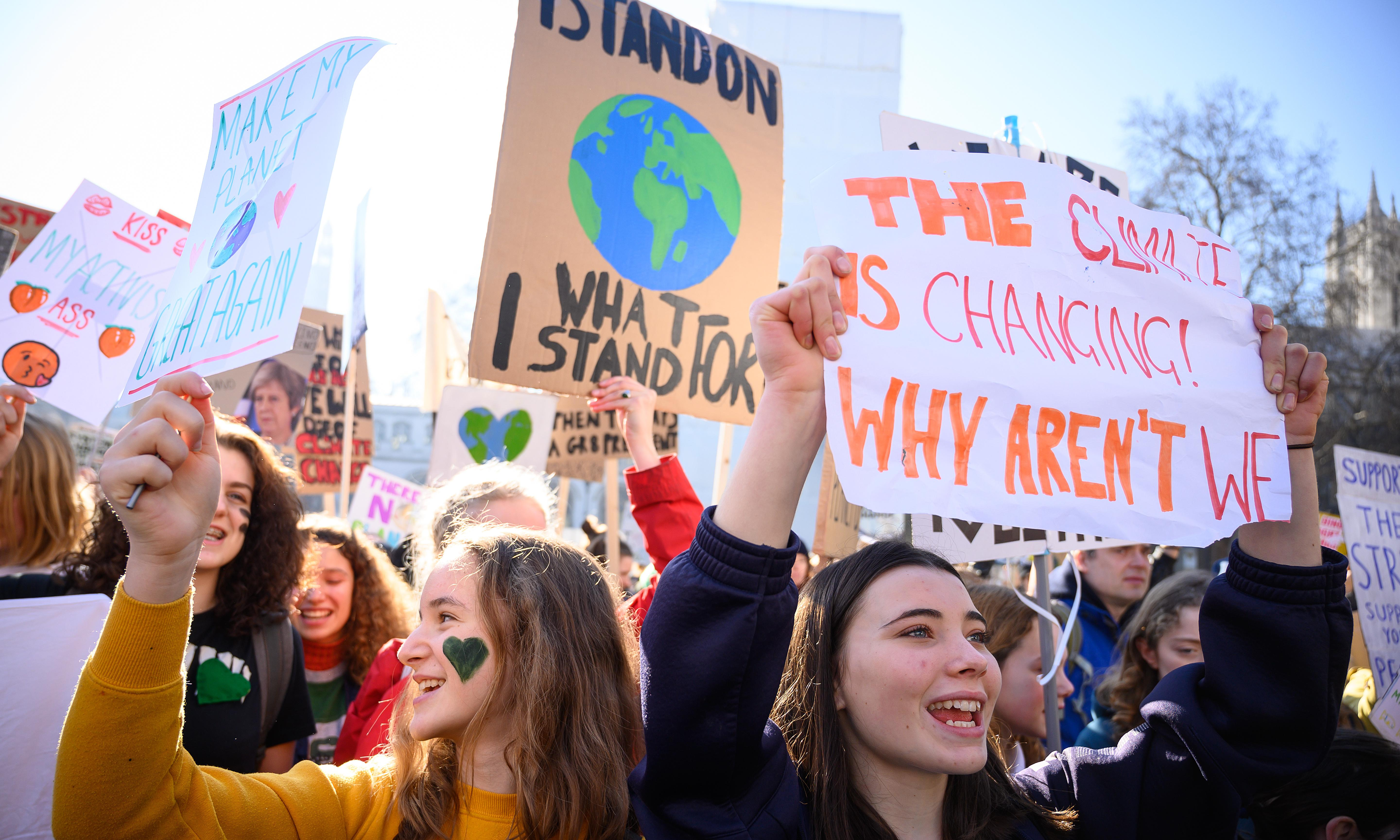 Climate crisis seen as 'most important issue' by public, poll shows