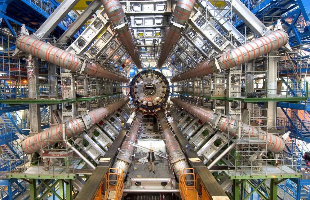 the large hadron collider at cern in switzerland