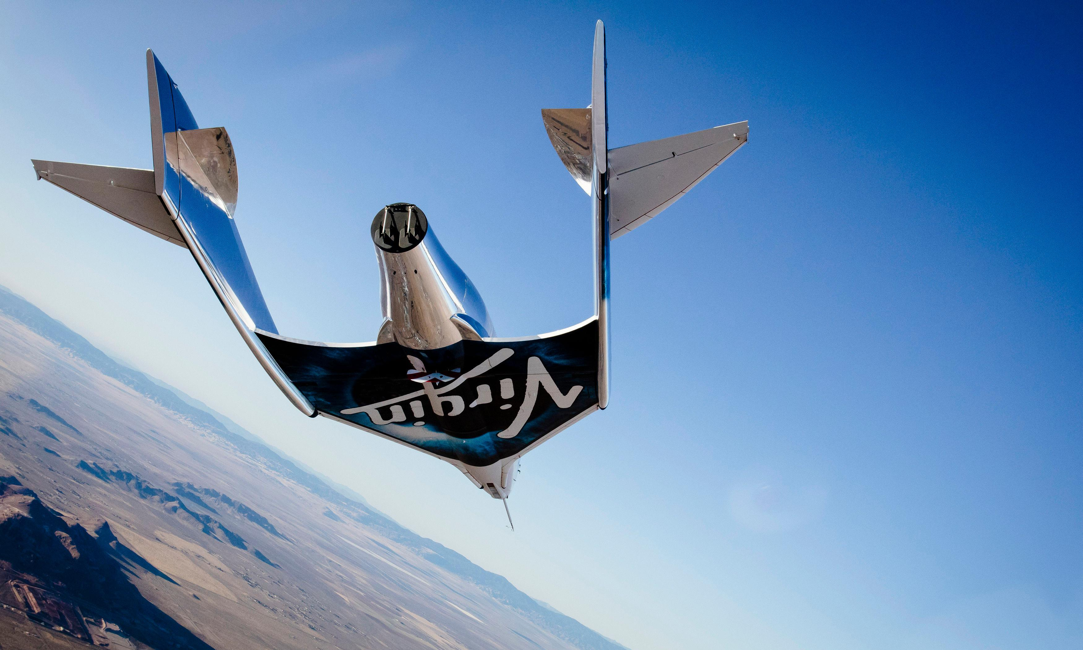 Virgin Galactic launches SpaceShipTwo to the edge of space