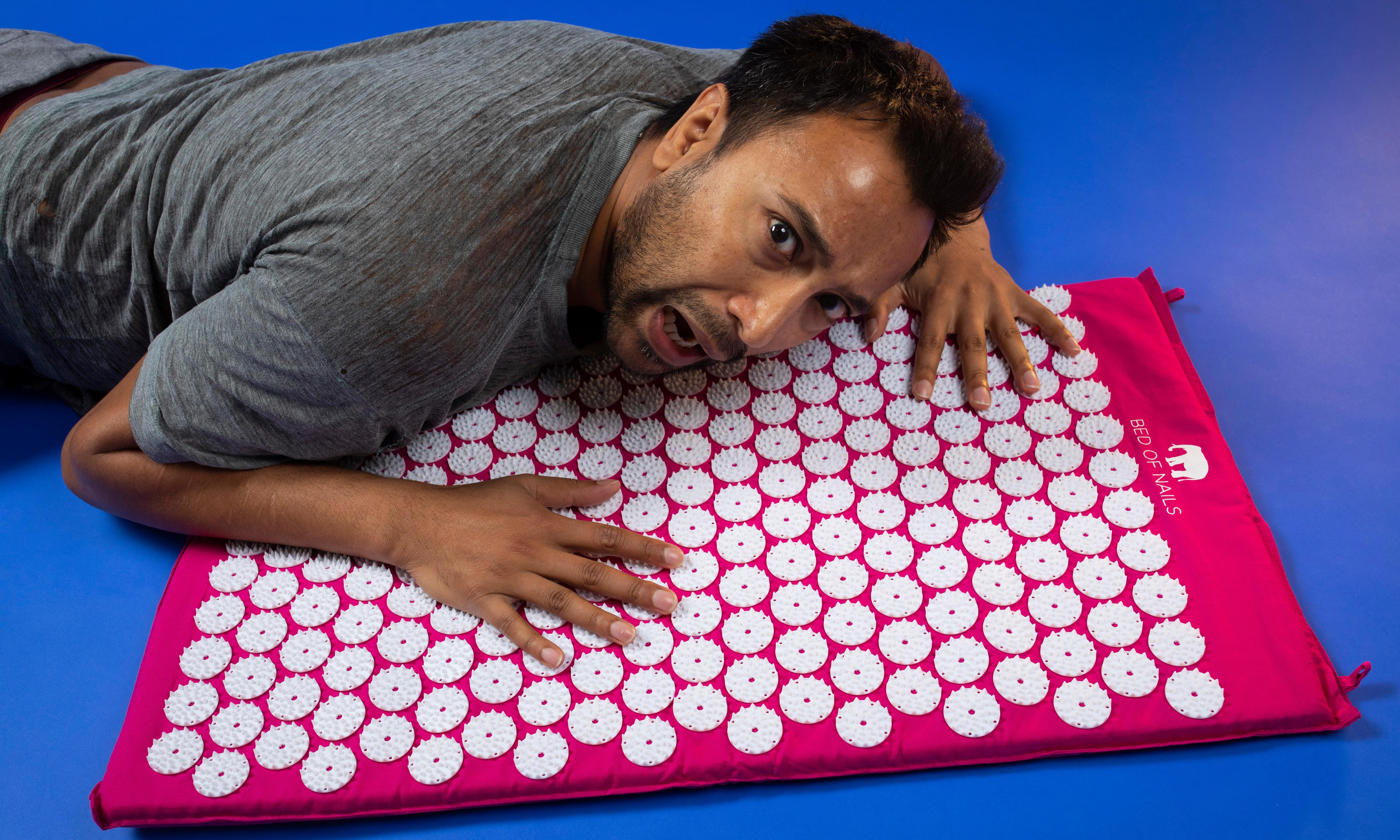 Can a bed of nails really relieve stress and insomnia - or just make me squeal?