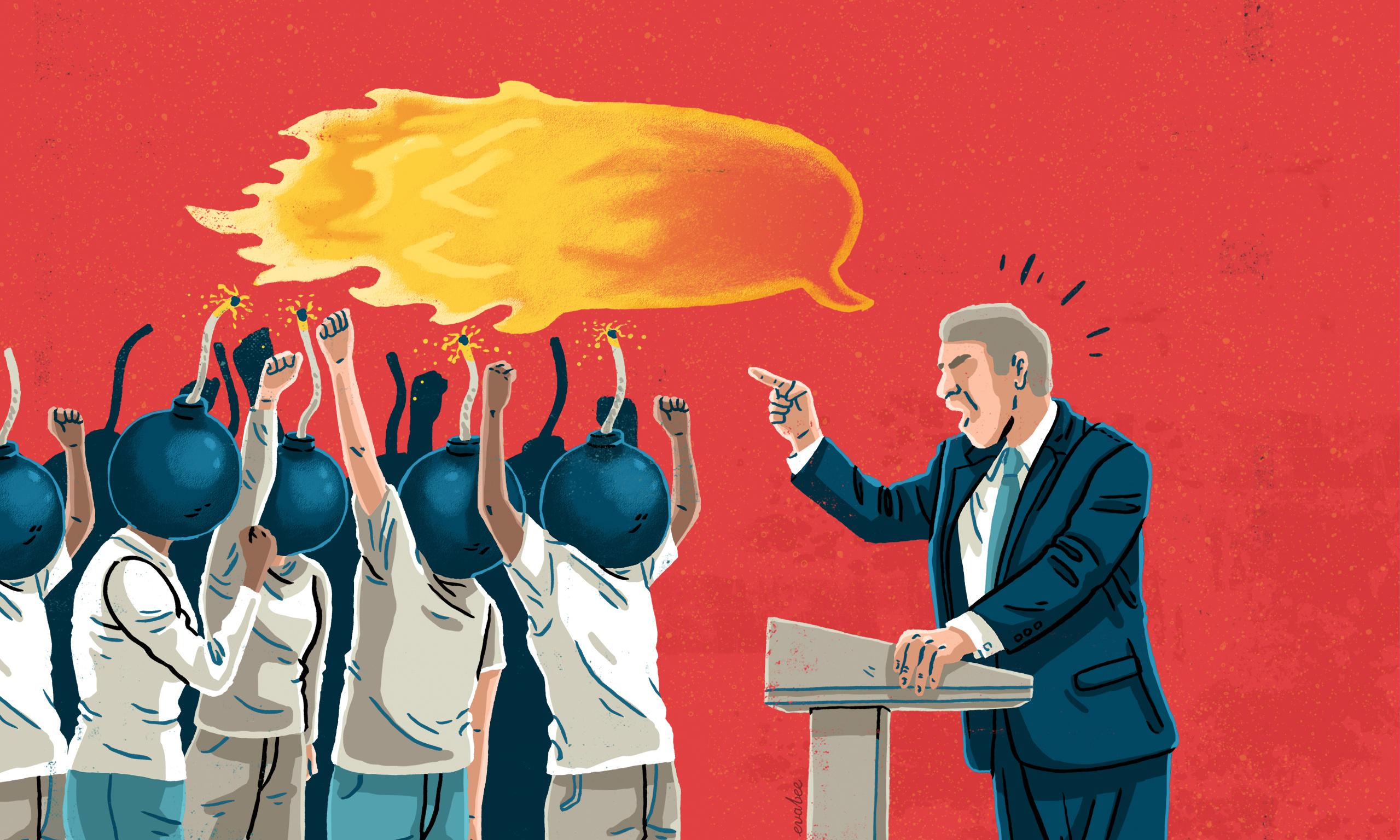 Demagogues thrive by whipping up our fury. Here's how to thwart them
