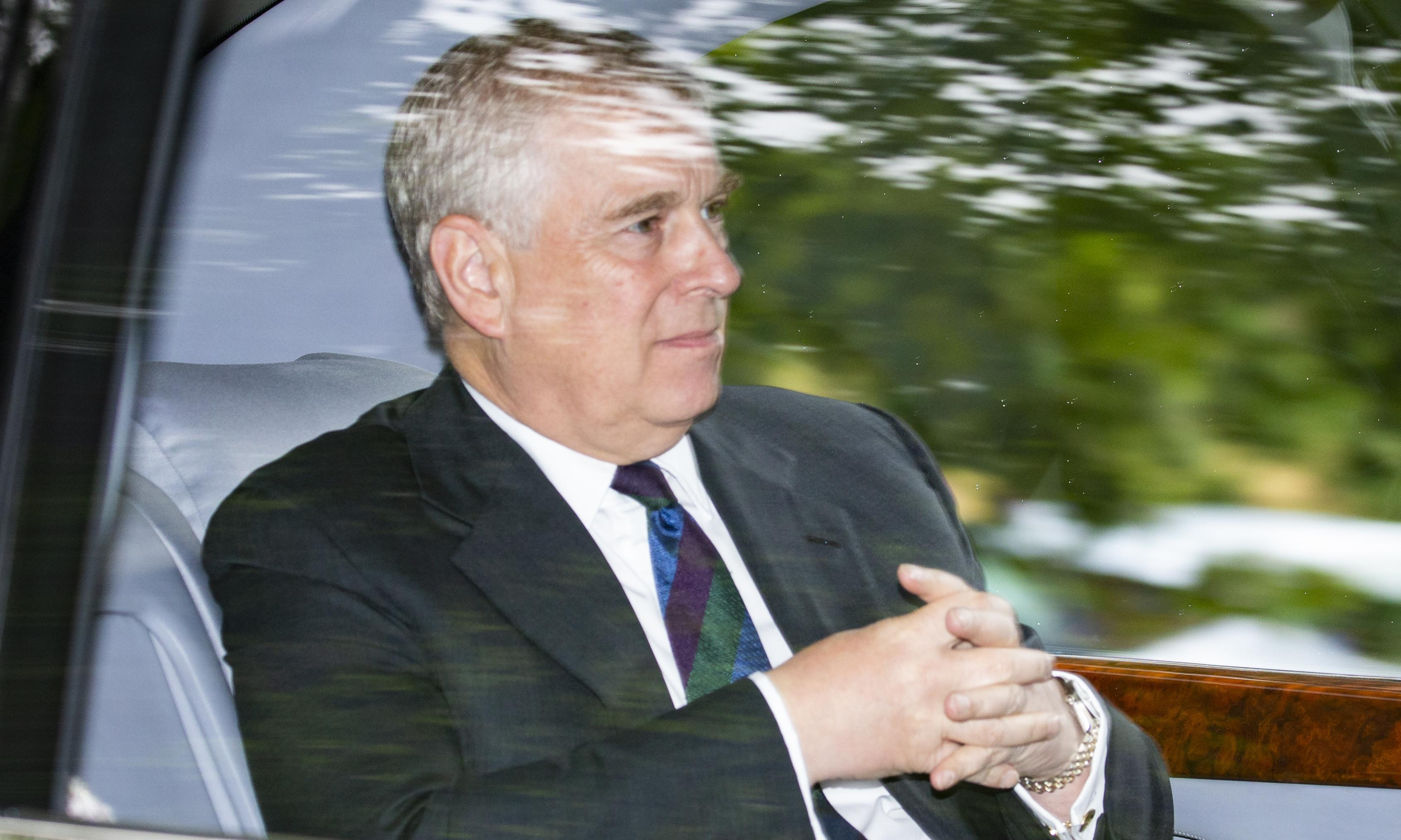 Prince Andrew 'appalled' by Epstein sex abuse claims