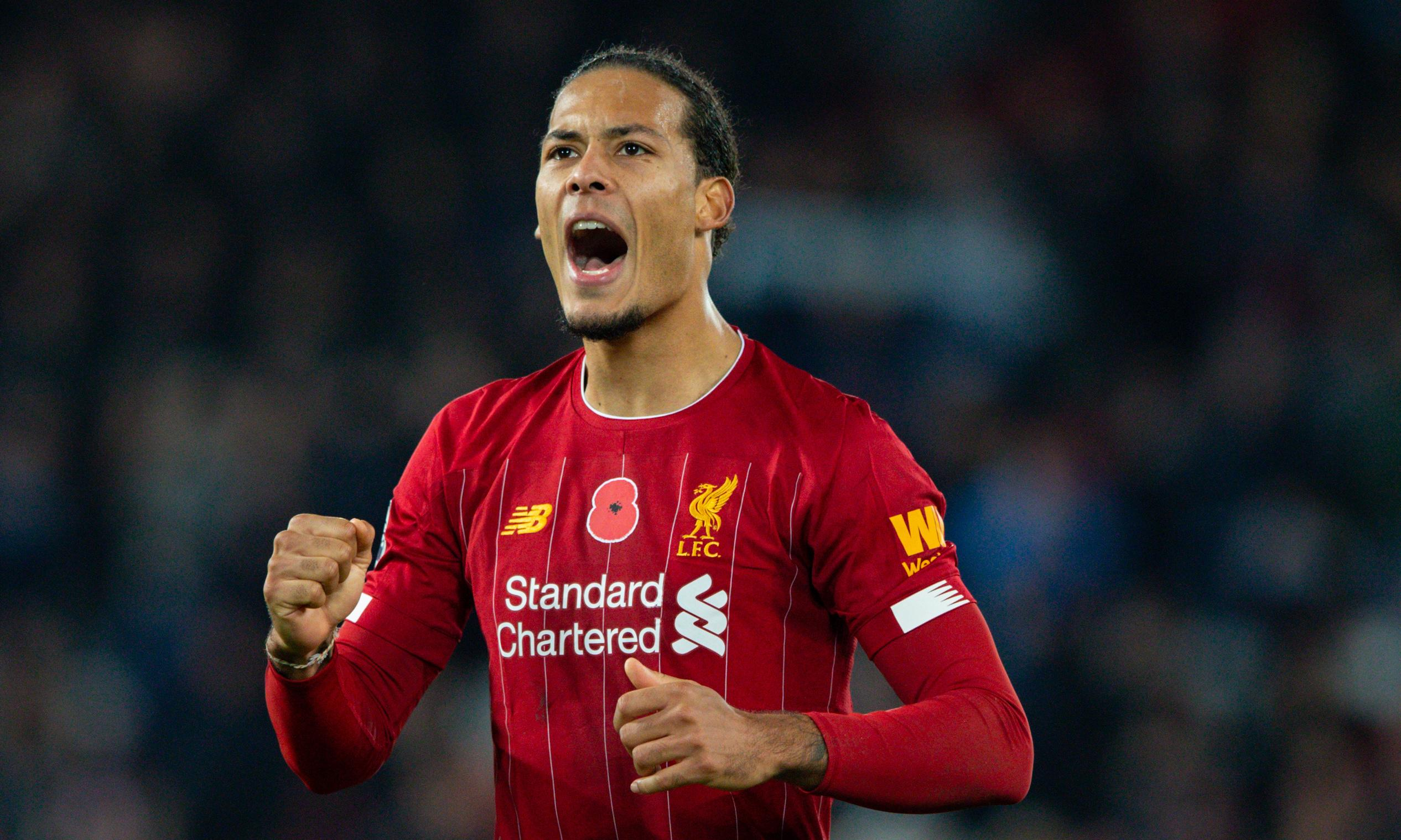 Virgil van Dijk and Liverpool to stay grounded in title pursuit