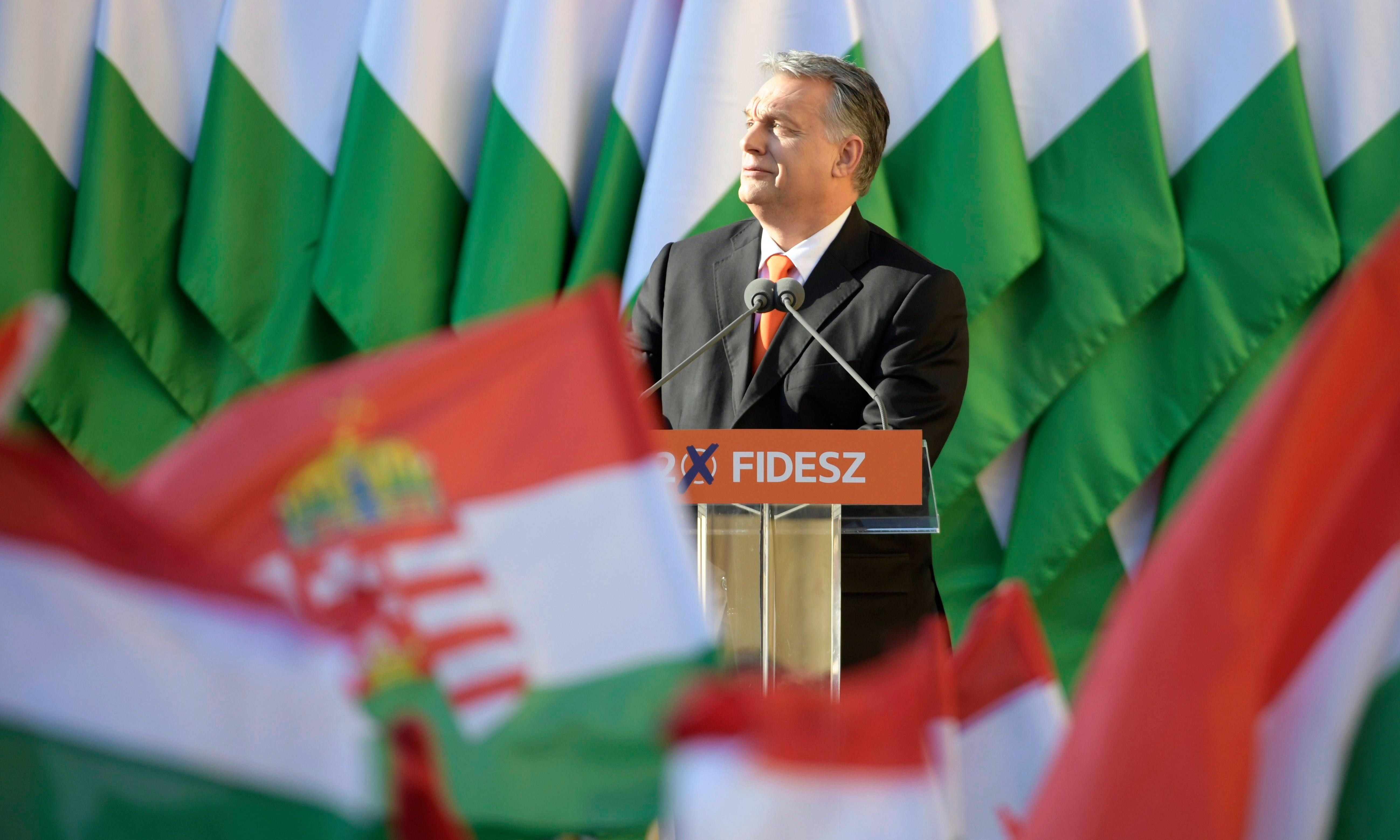 Viktor Orbán's party suspended from centre-right EPP bloc