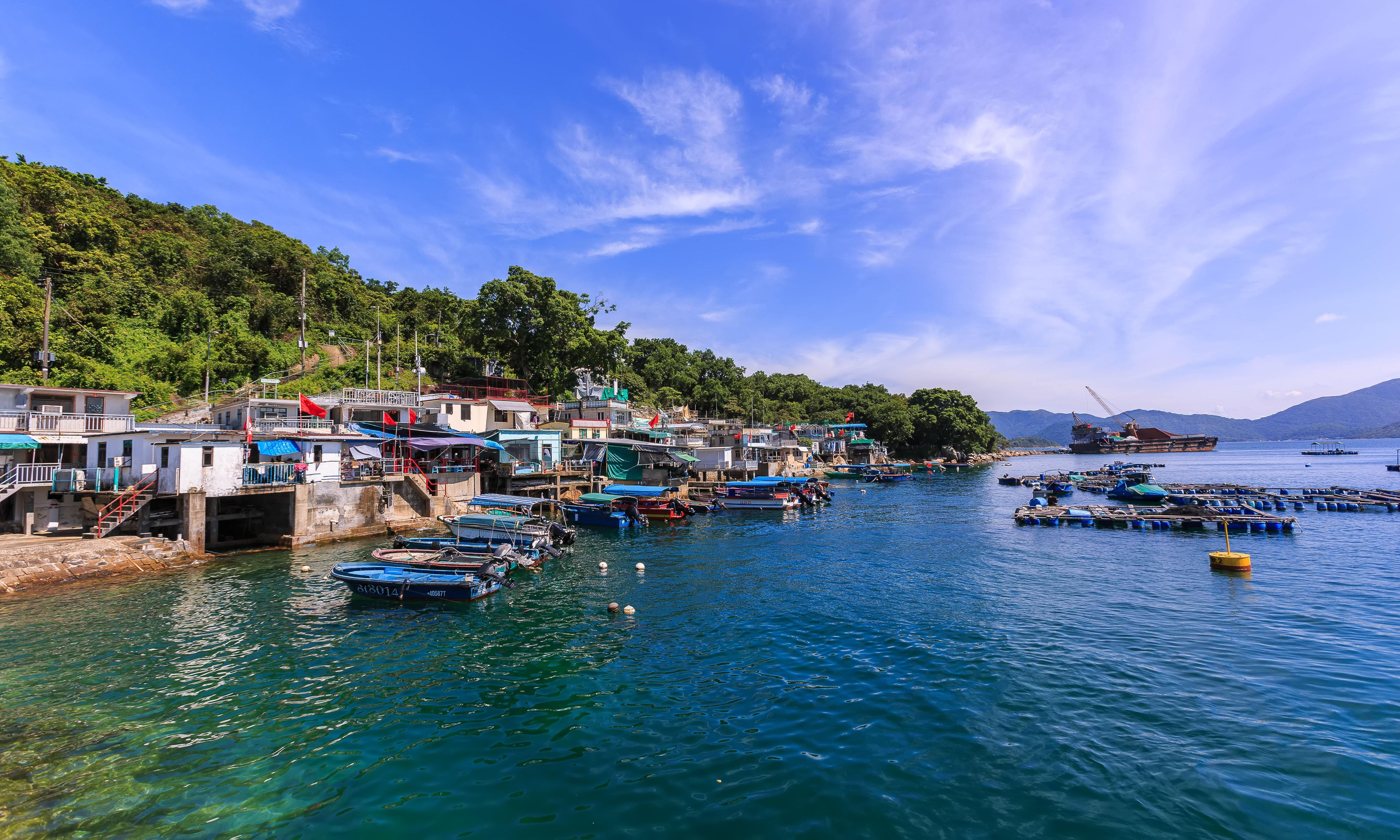 Ghost villages and feral cows: island-hopping adventures in Hong Kong