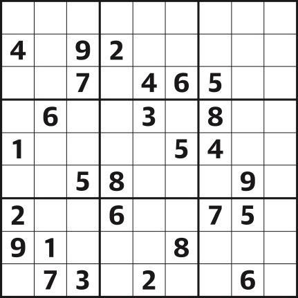 Sudoku 4,396 medium