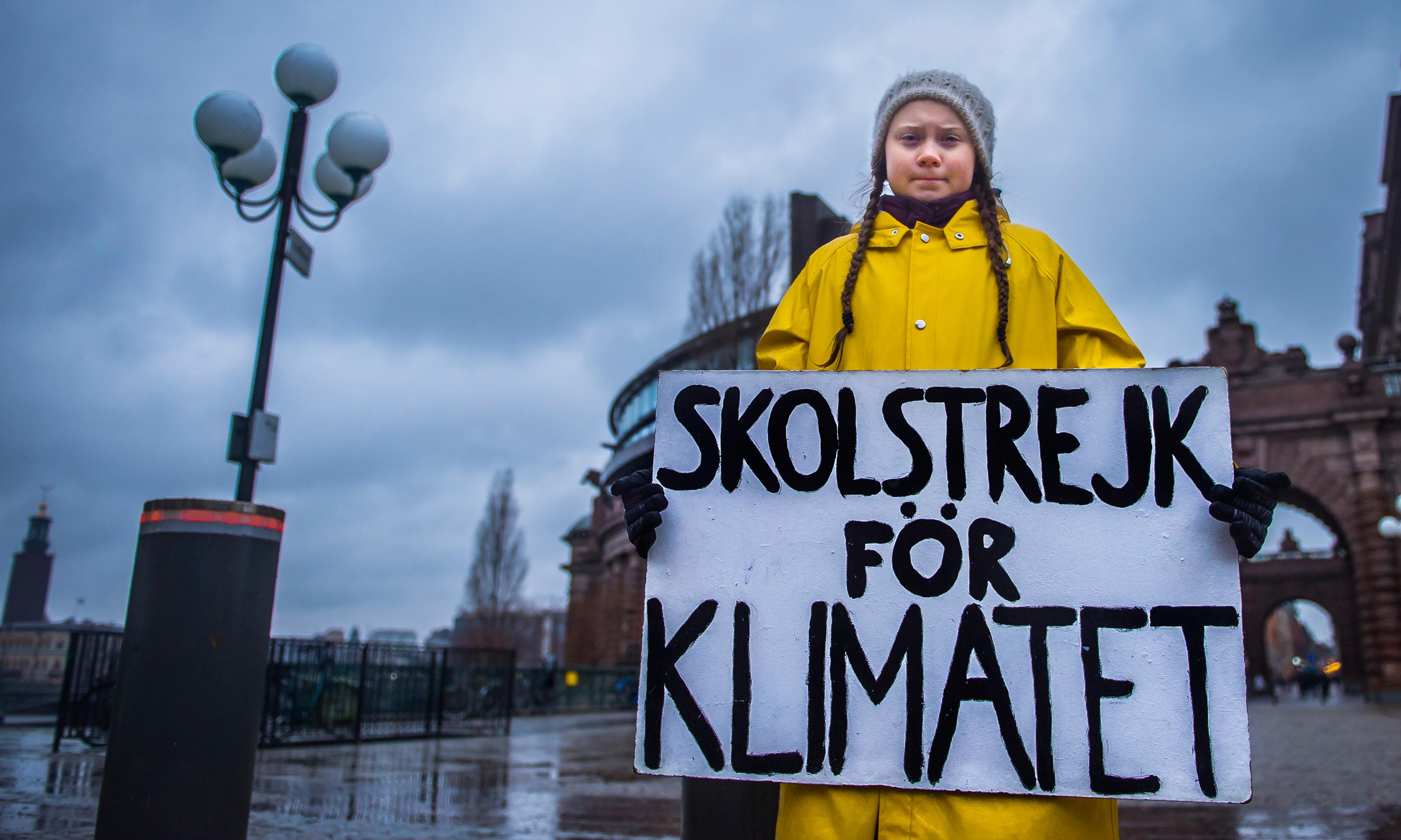 'Our leaders are like children,' school strike founder tells climate summit