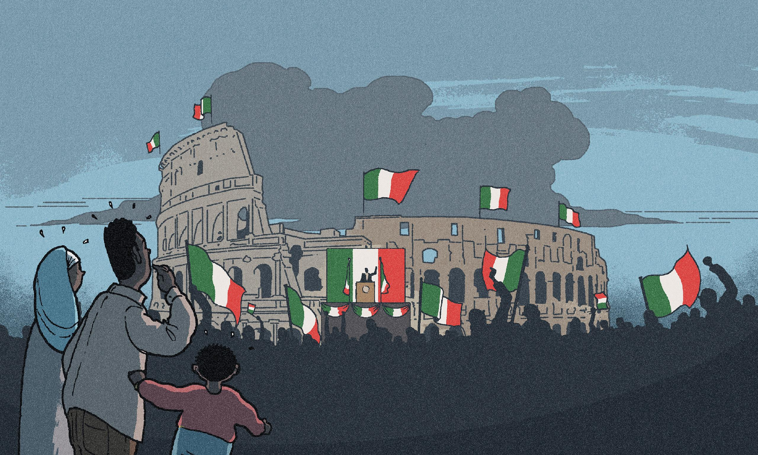 Wake up, Italians – our country is in a state of democratic emergency