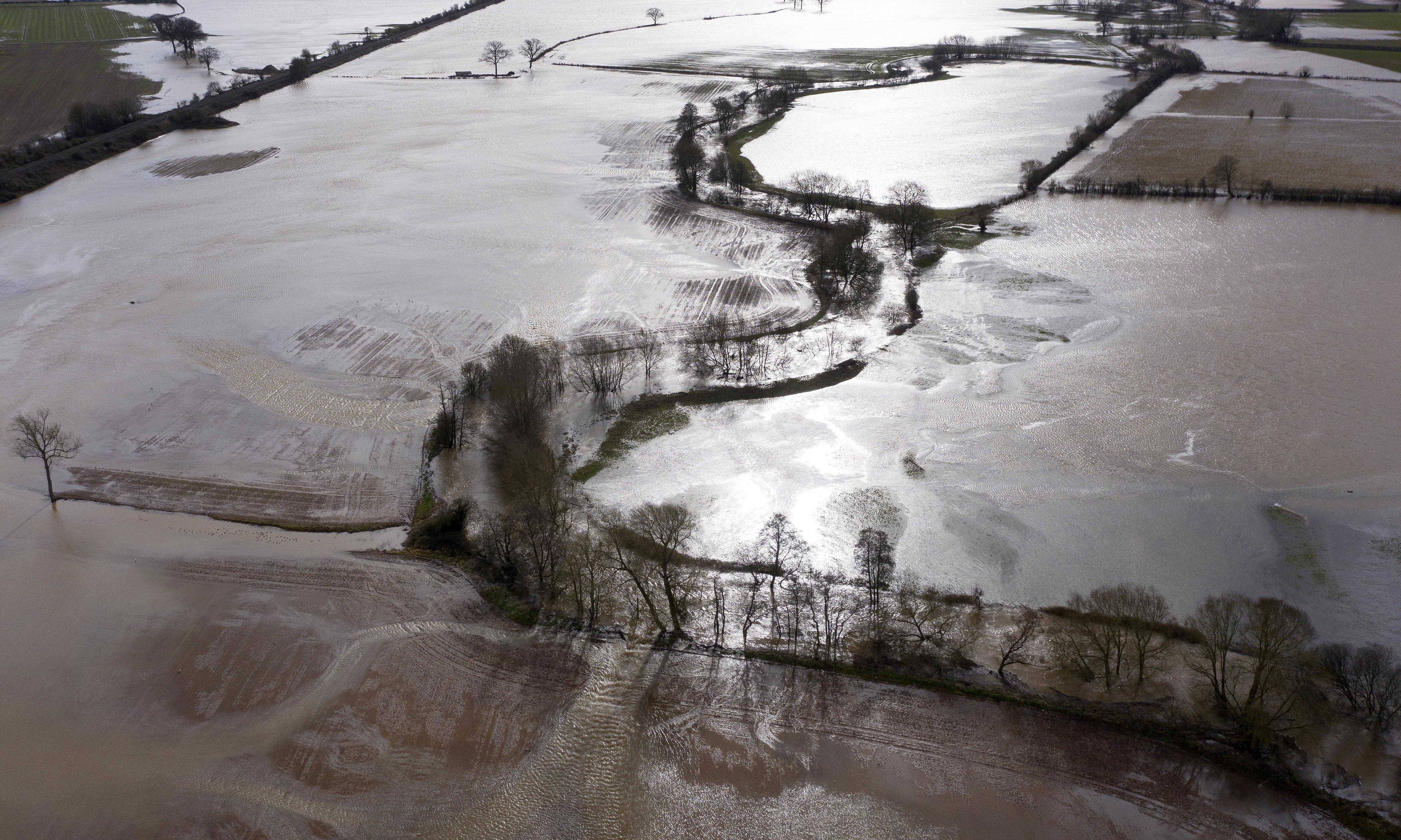 Storm Dennis: flood-hit communities brace for more heavy rain