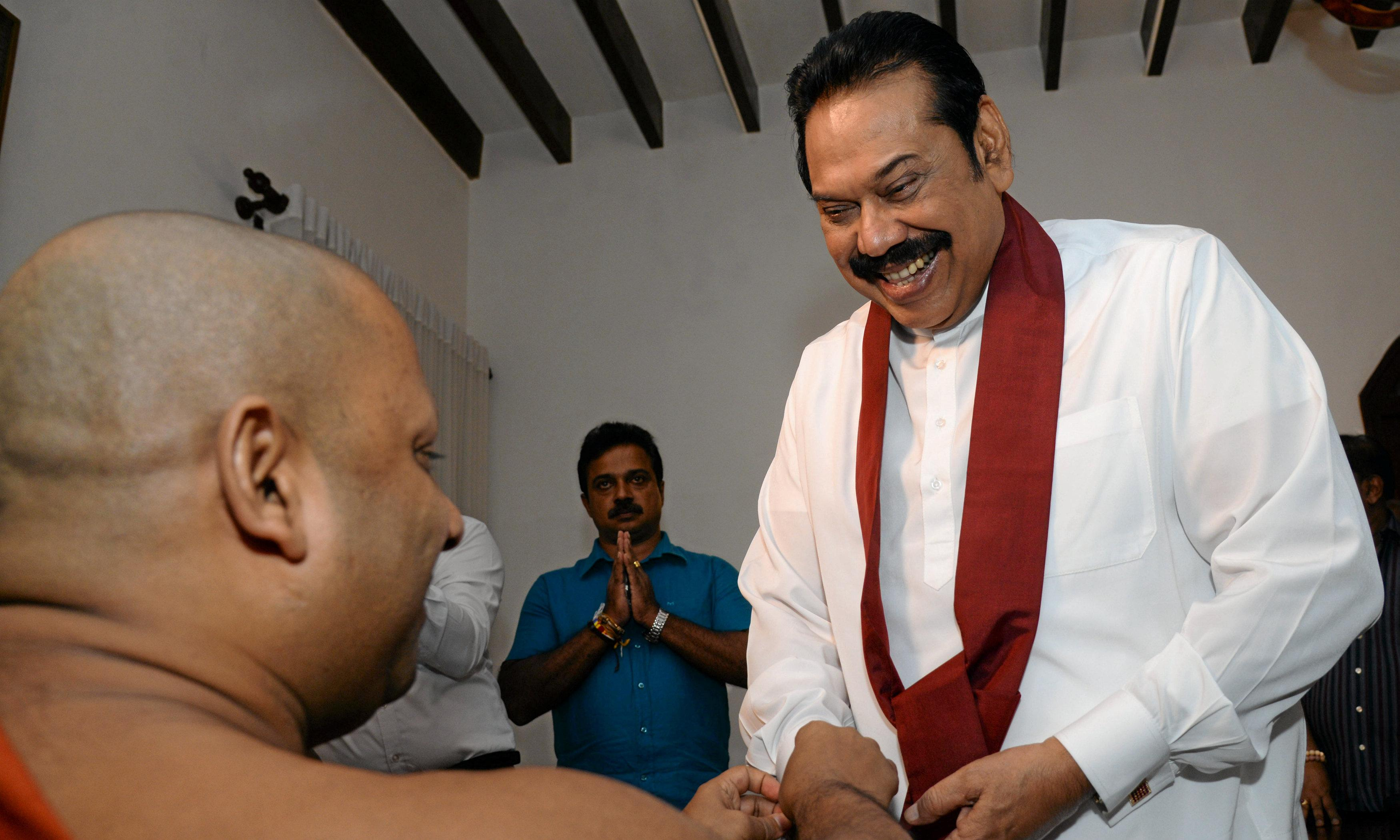 Sri Lanka's PM resigns in effort to ease constitutional crisis