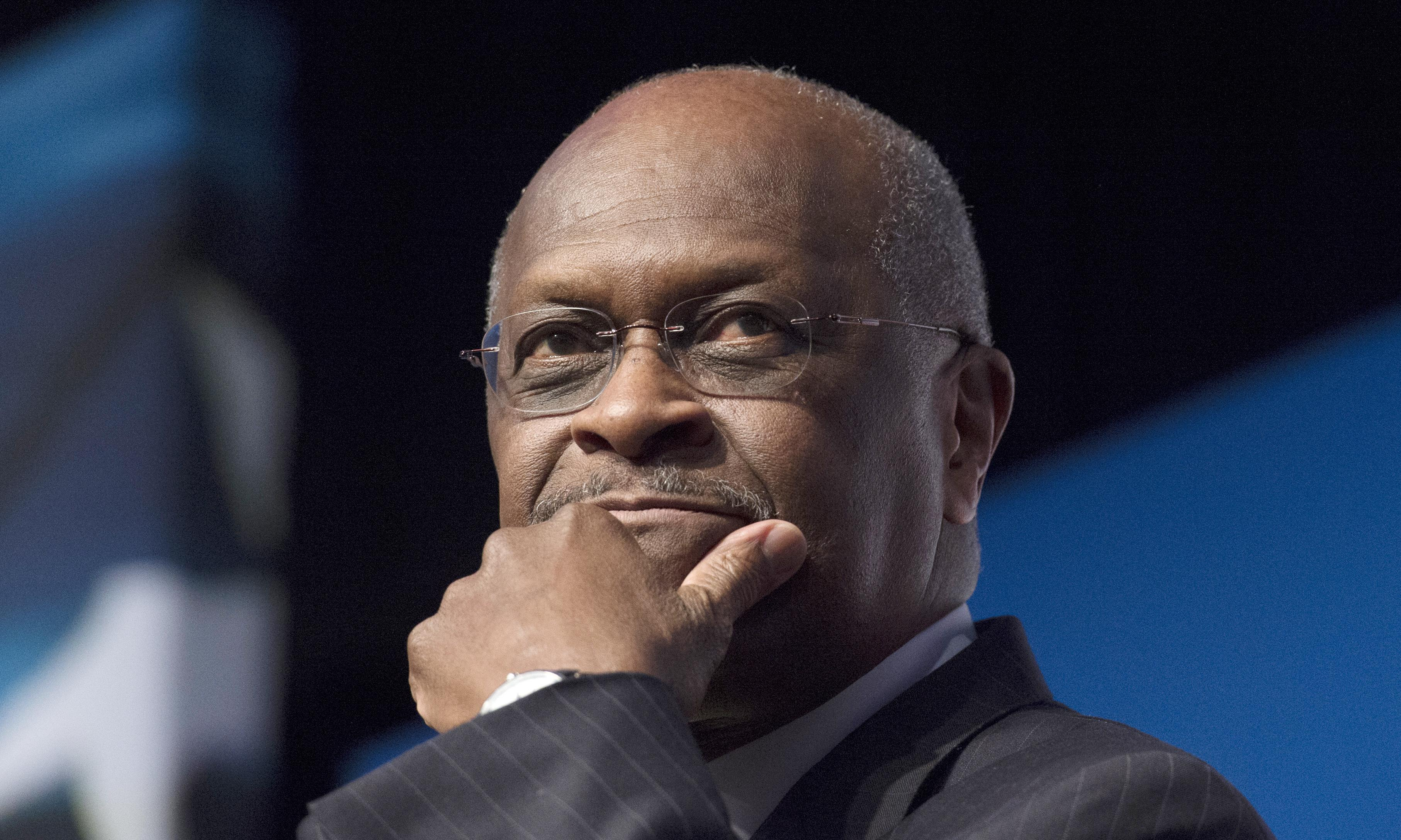 Trump says he will not nominate Herman Cain to Federal Reserve board