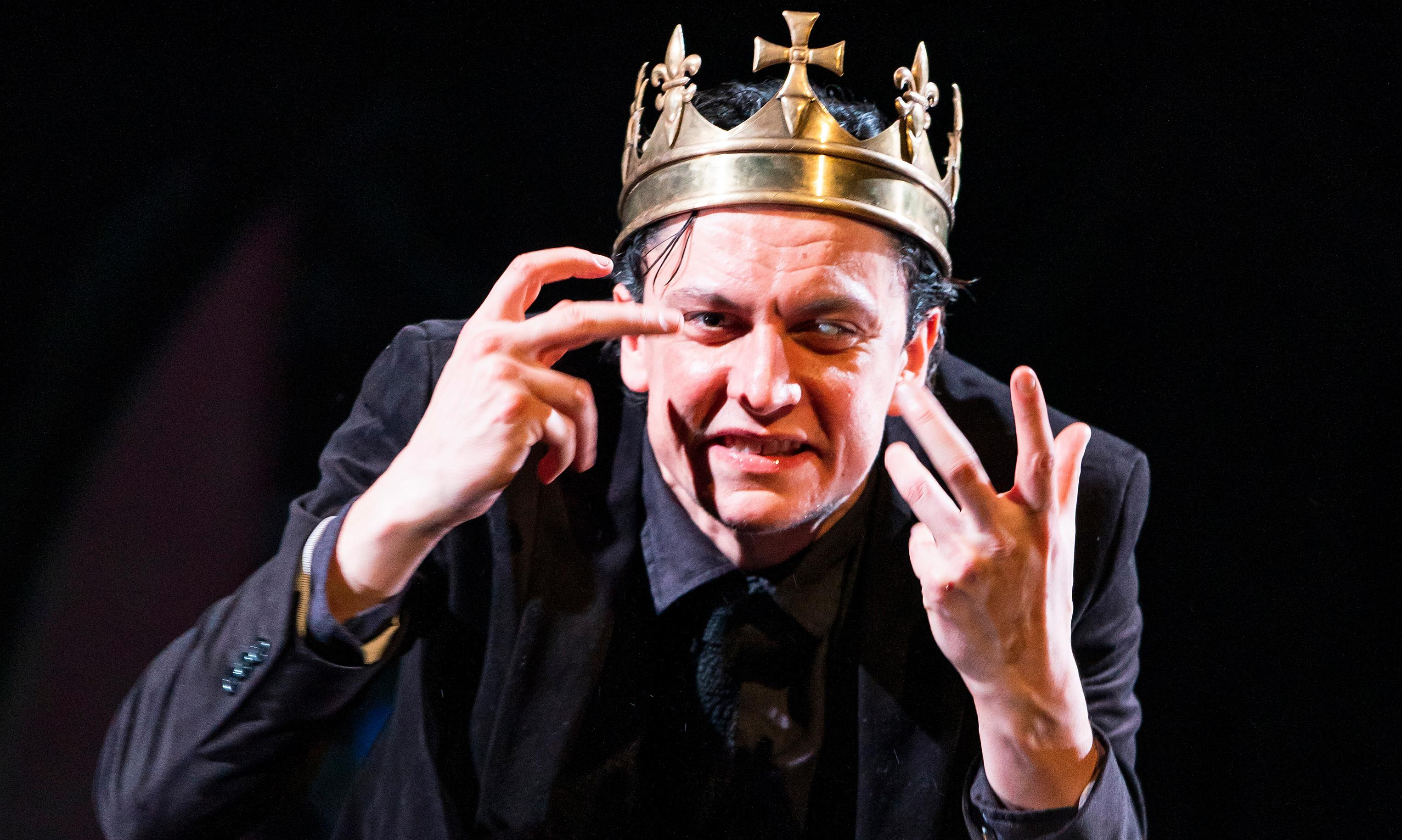 Richard III review – Tom Mothersdale hypnotises as the unhinged overlord