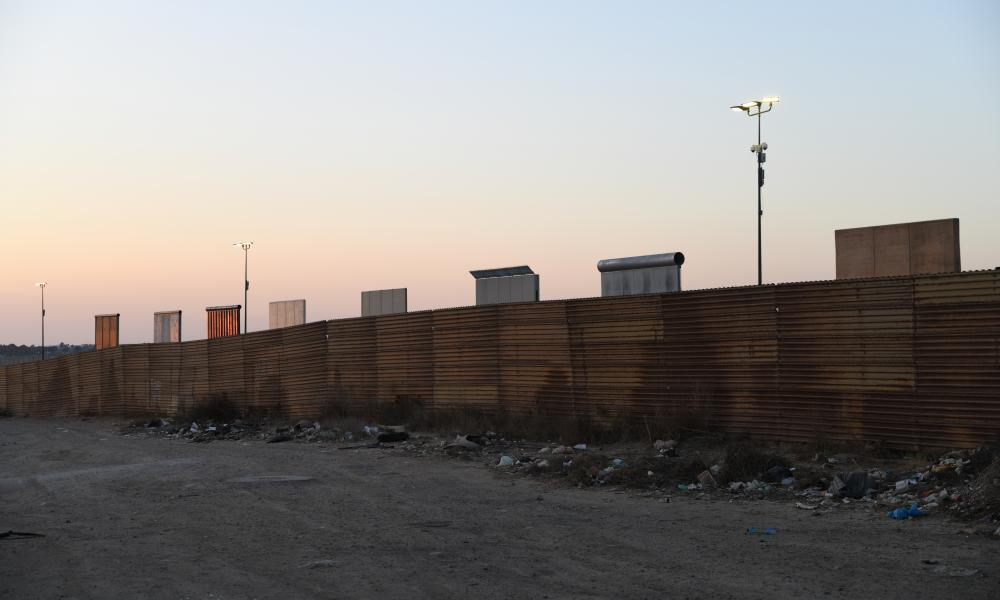 The border wall prototypes