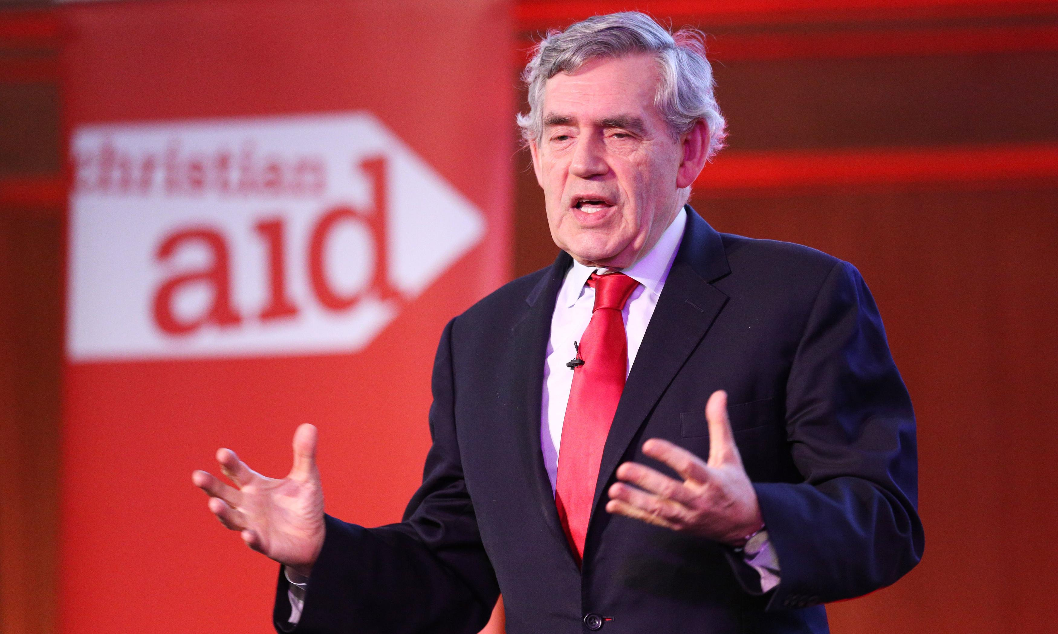 Reconciliation in UK could take a generation, says Gordon Brown