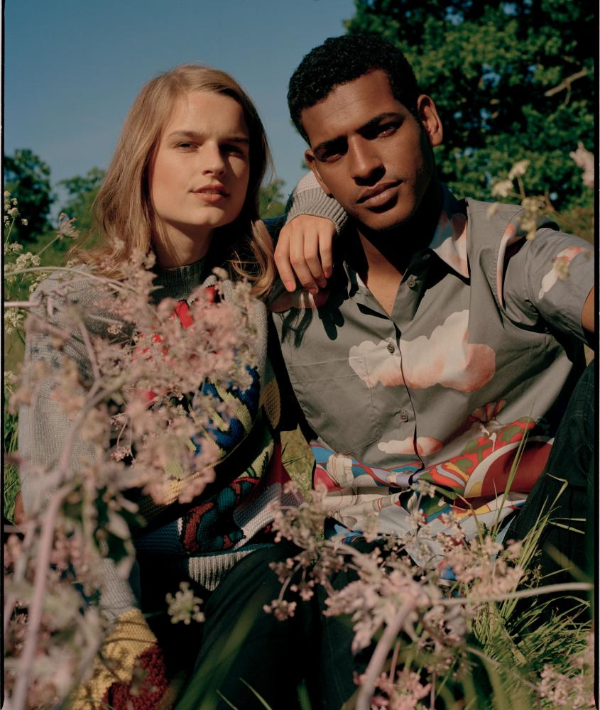 Models wearing clothes from the All Together now collection