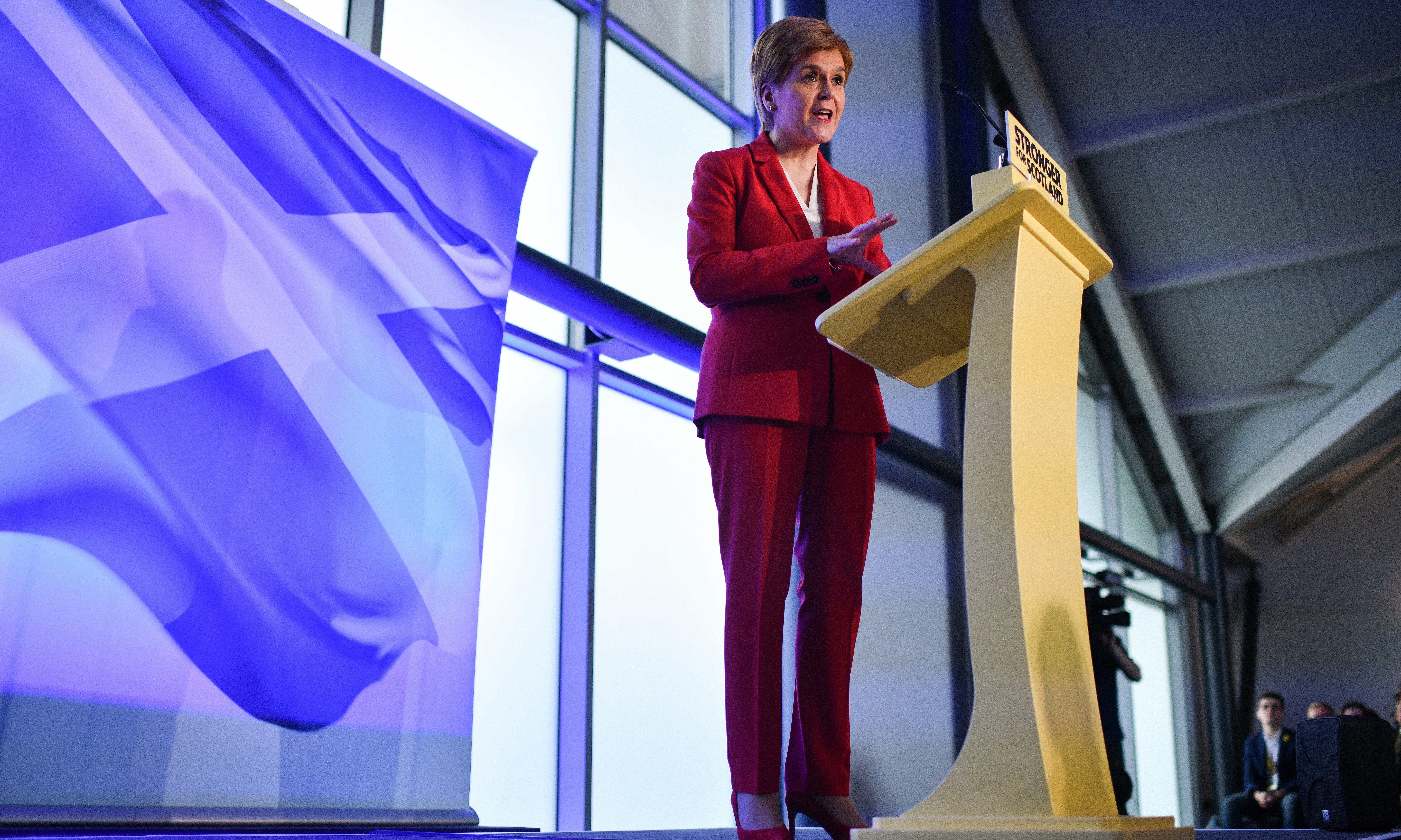 No deal made with Labour on Scottish referendum, says Nicola Sturgeon