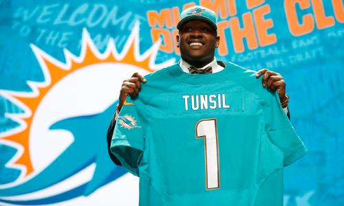 Laremy Tunsil attracted the most attention of any player in Chicago