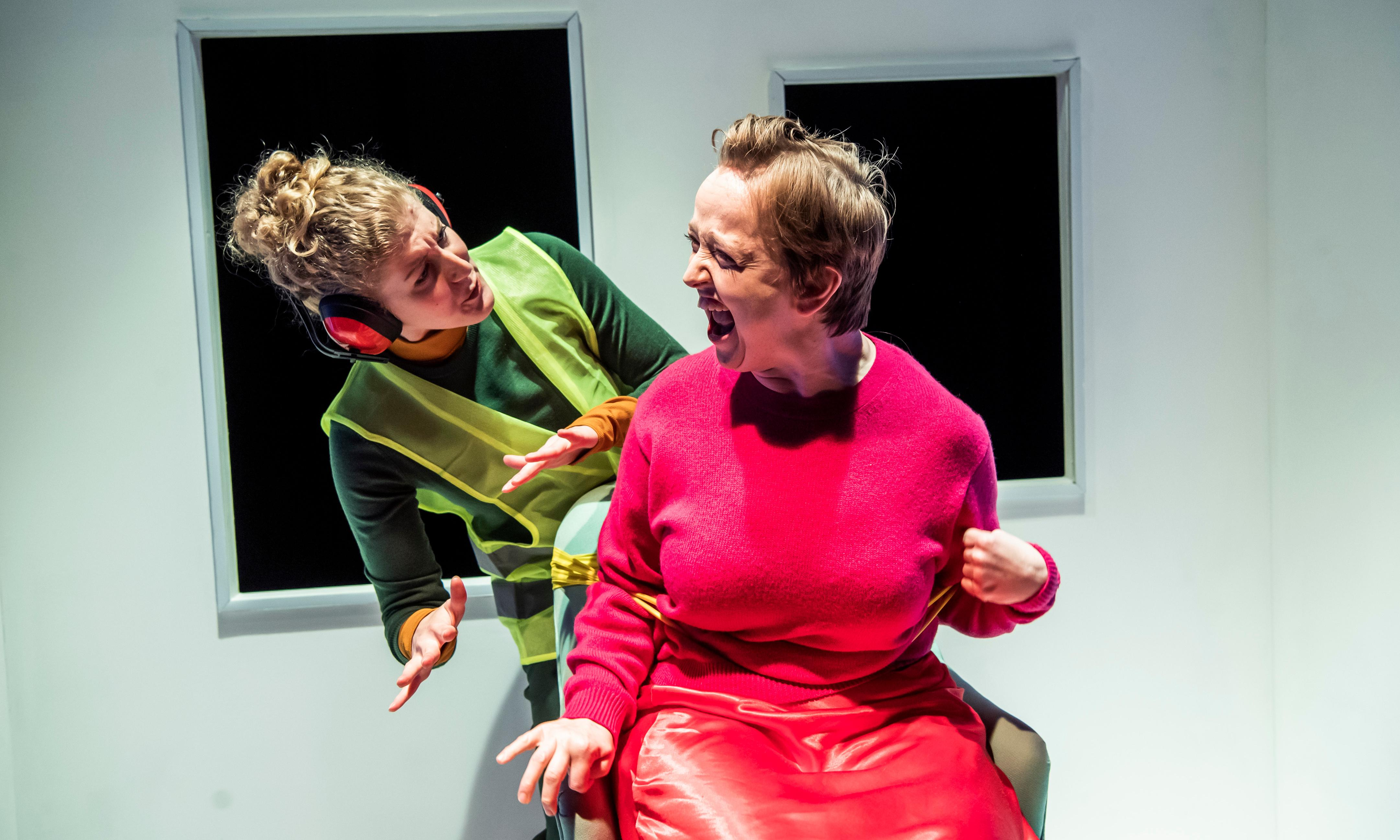 Scrounger review – the surreal case of the broken wheelchair