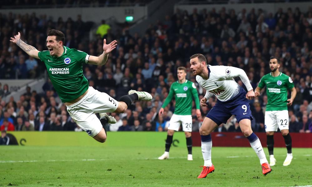Vincent Janssen got a runout against Brighton, highlighting how stretched Tottenham's resources are.