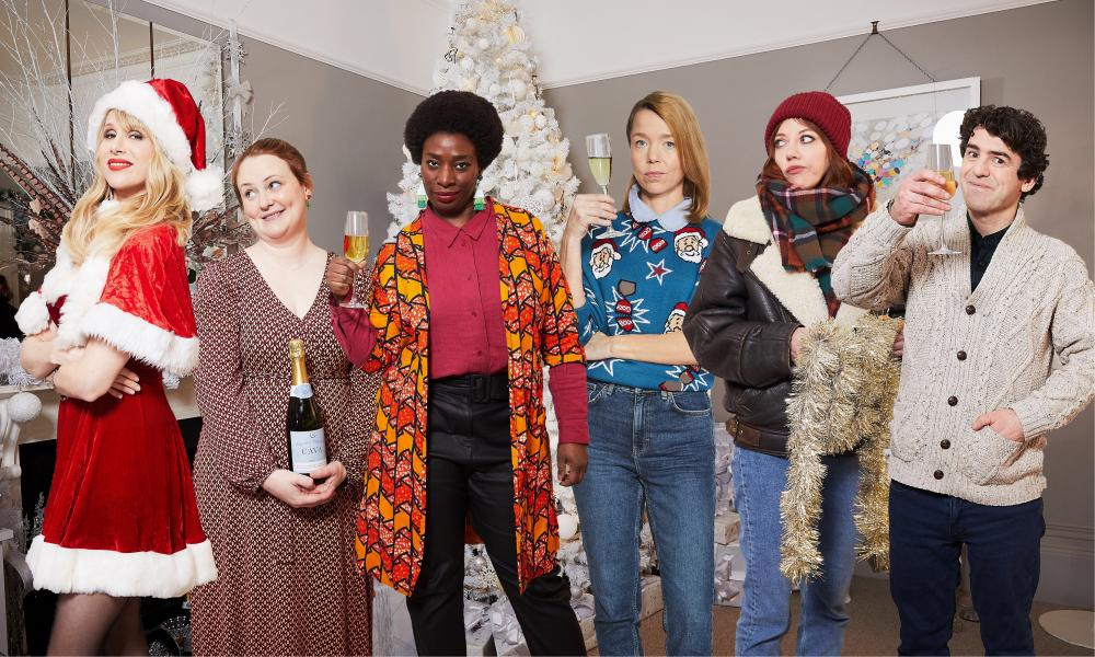 Motherland's Lucy Punch, Philippa Dunne, Tanya Moodie, Anna Maxwell Martin, Diane Morgan and Paul Ready.