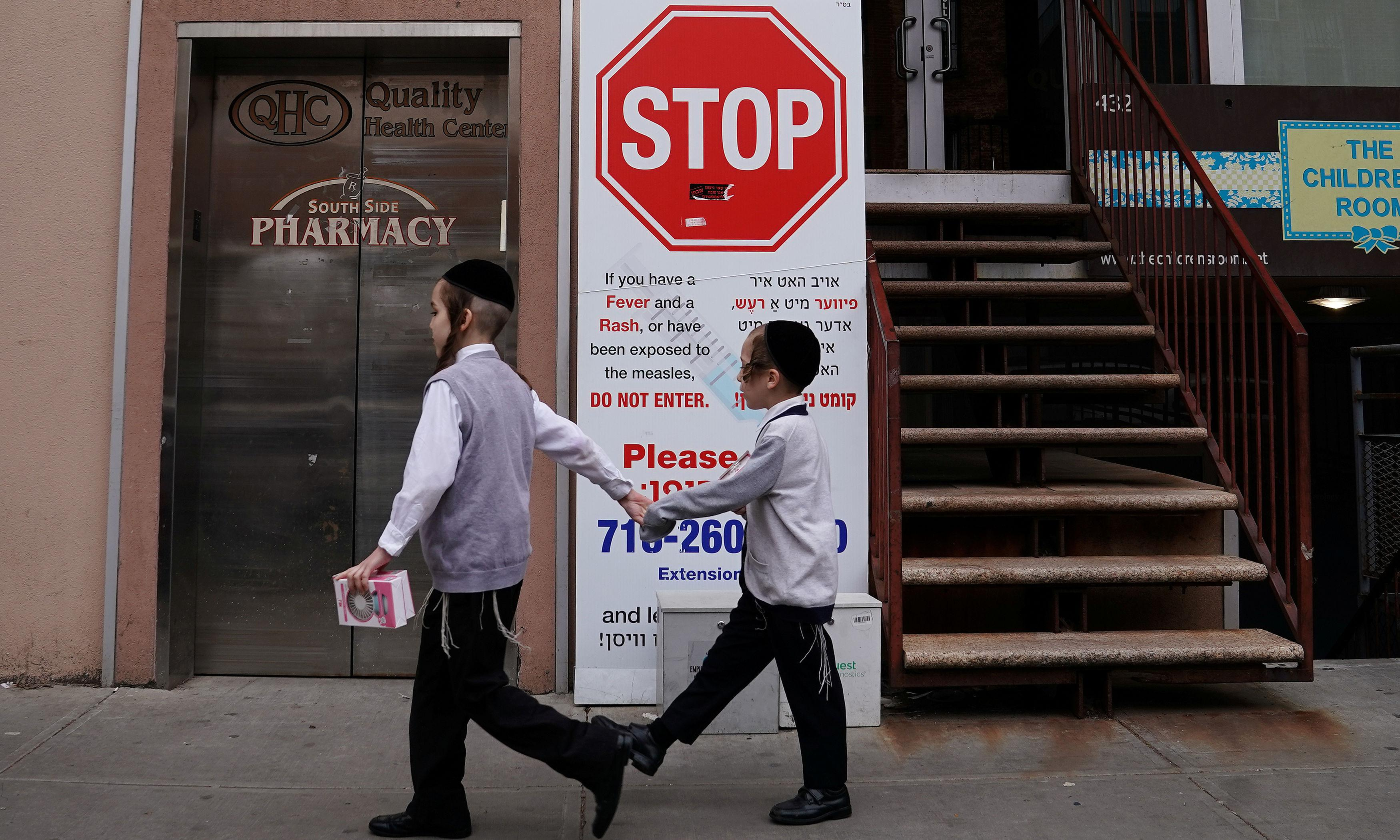 Orthodox Jewish communities face antisemitism over measles outbreak