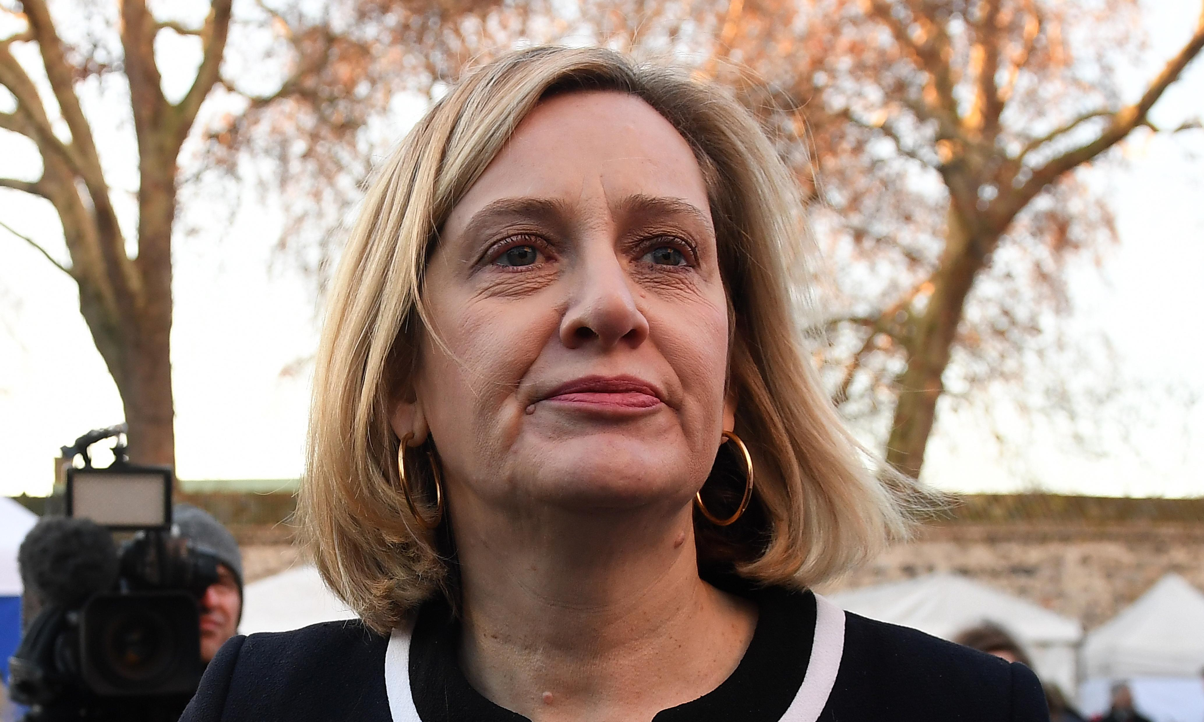 Amber Rudd's denial of the benefits crisis takes political spin to a new level