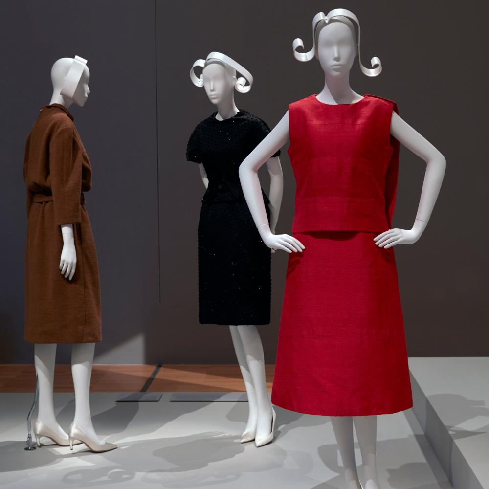 Designer Marc Bohan's 60s style gowns for Dior.