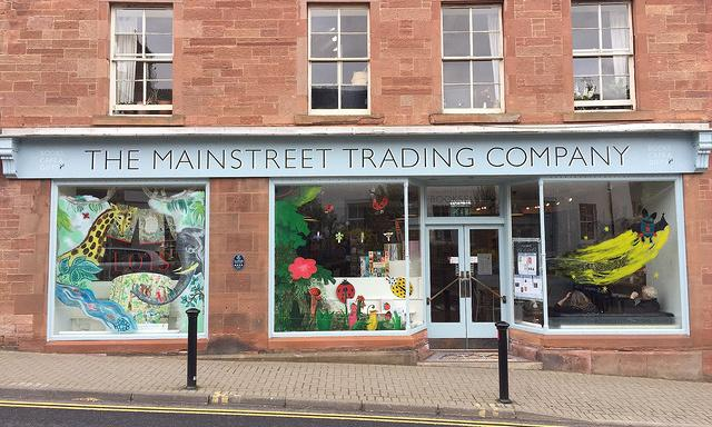 Browse a bookshop: The Mainstreet Trading Company, St Boswells