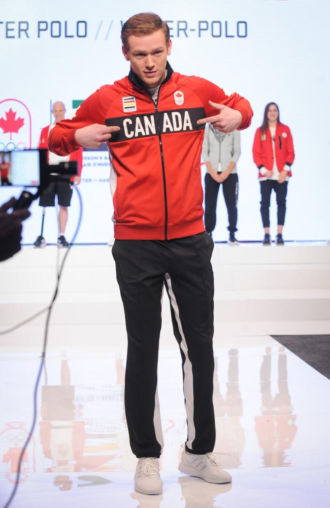 The Team Canada collection For Rio