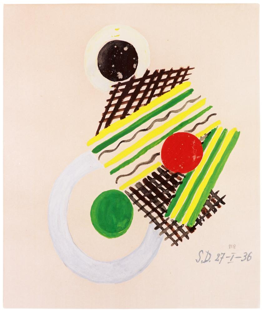 Sonia Delaunay's Untitled (1936)