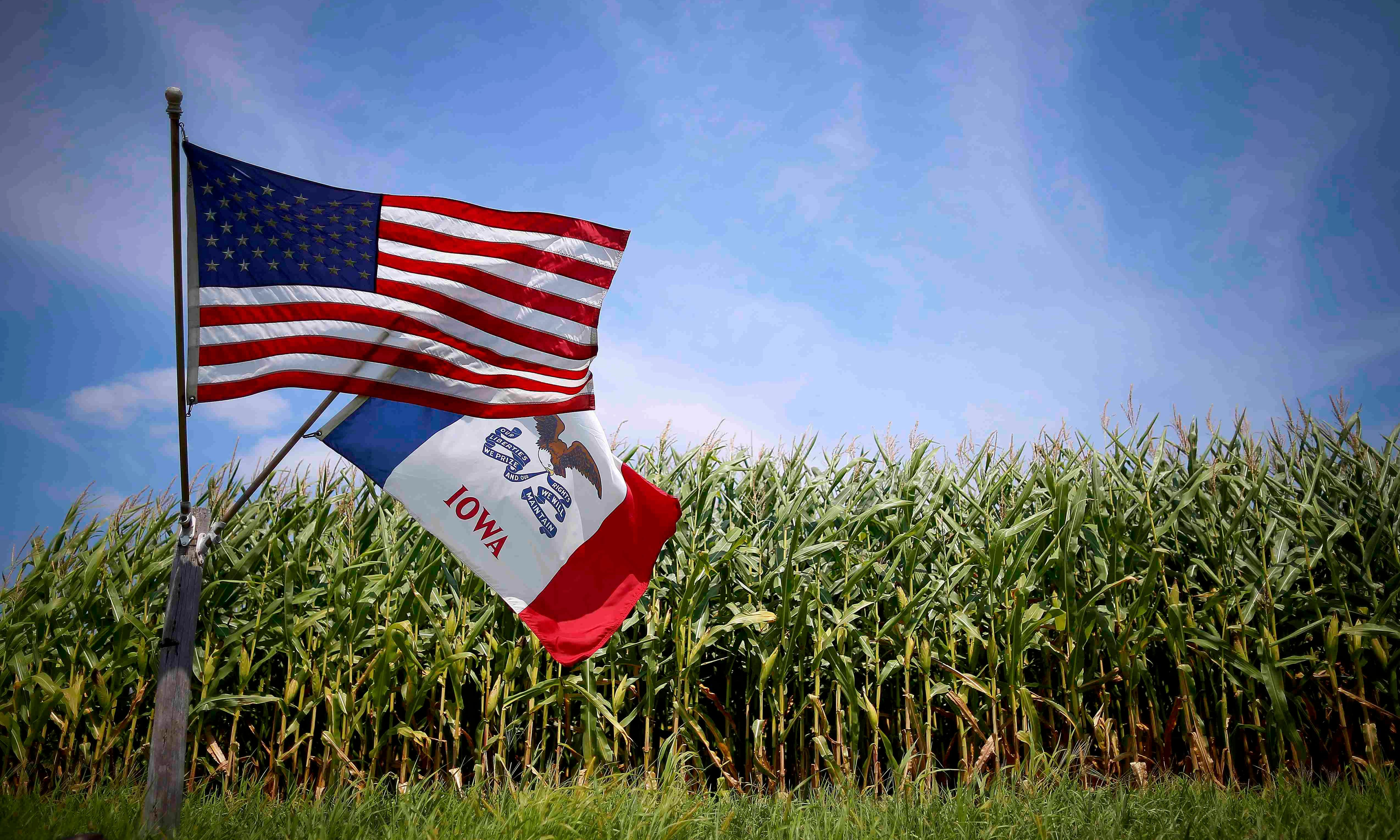 Politicians say nothing, but US farmers are increasingly terrified by it – climate change