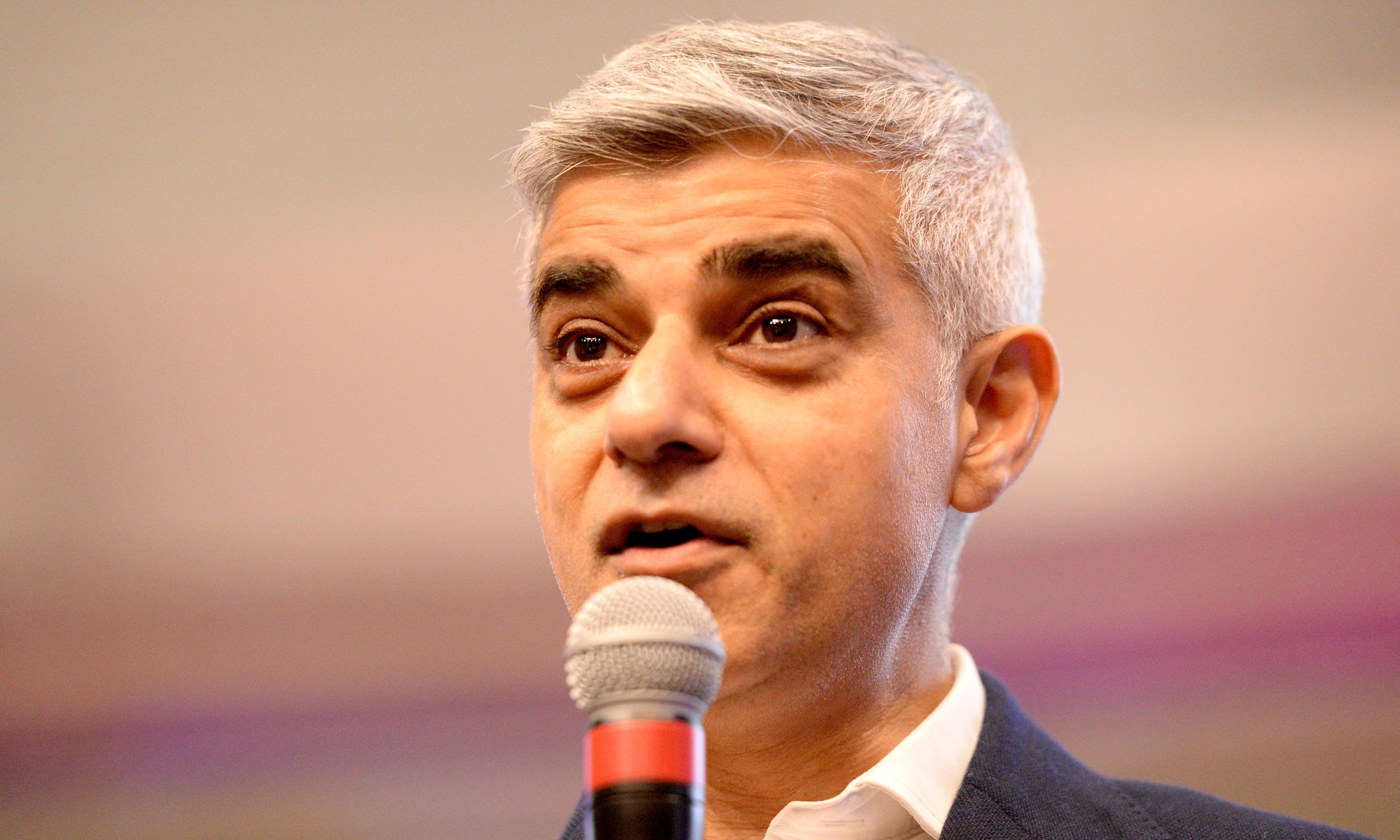 Sadiq Khan sets up £50m fund to reduce emissions in London