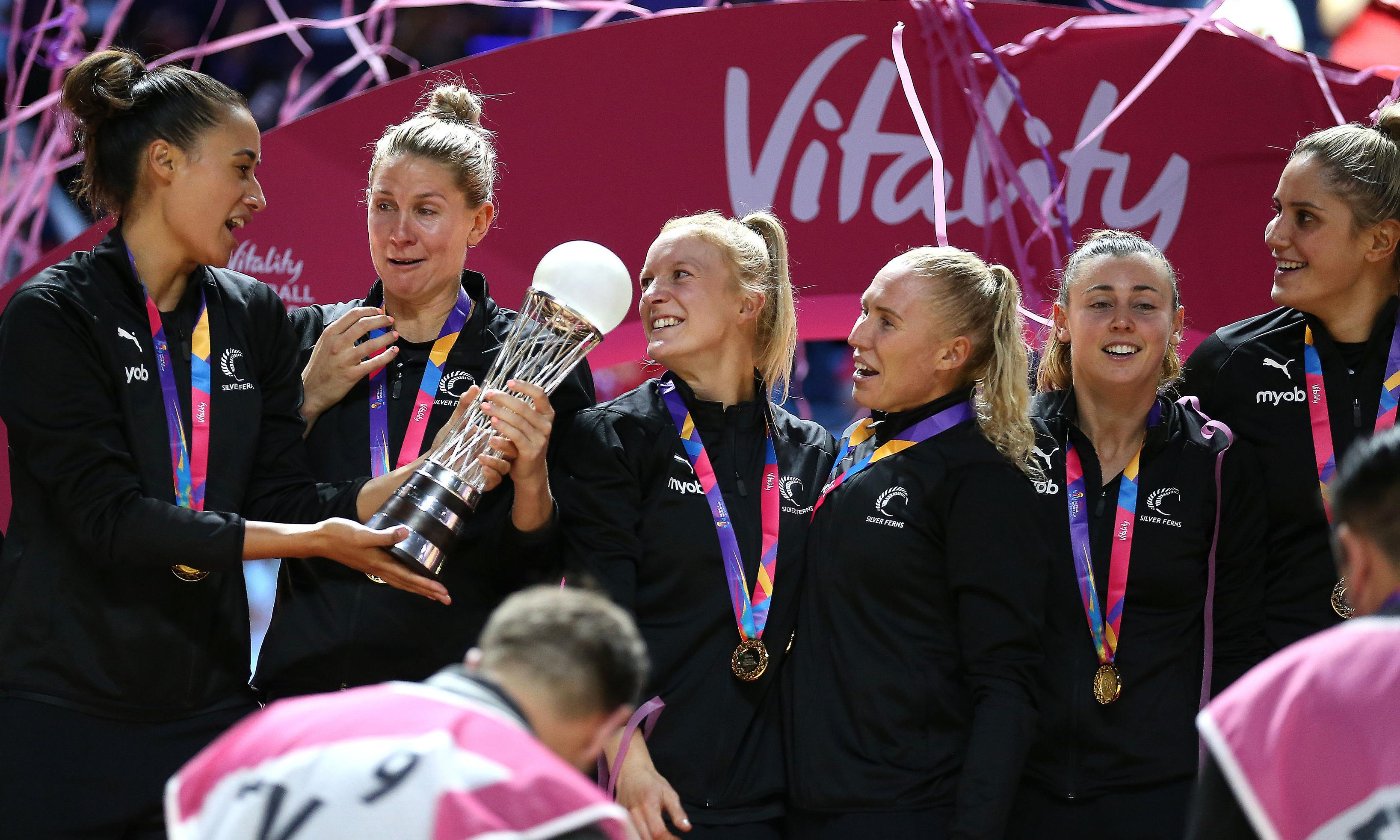 New Zealand end 16-year wait to beat Australia in Netball World Cup final