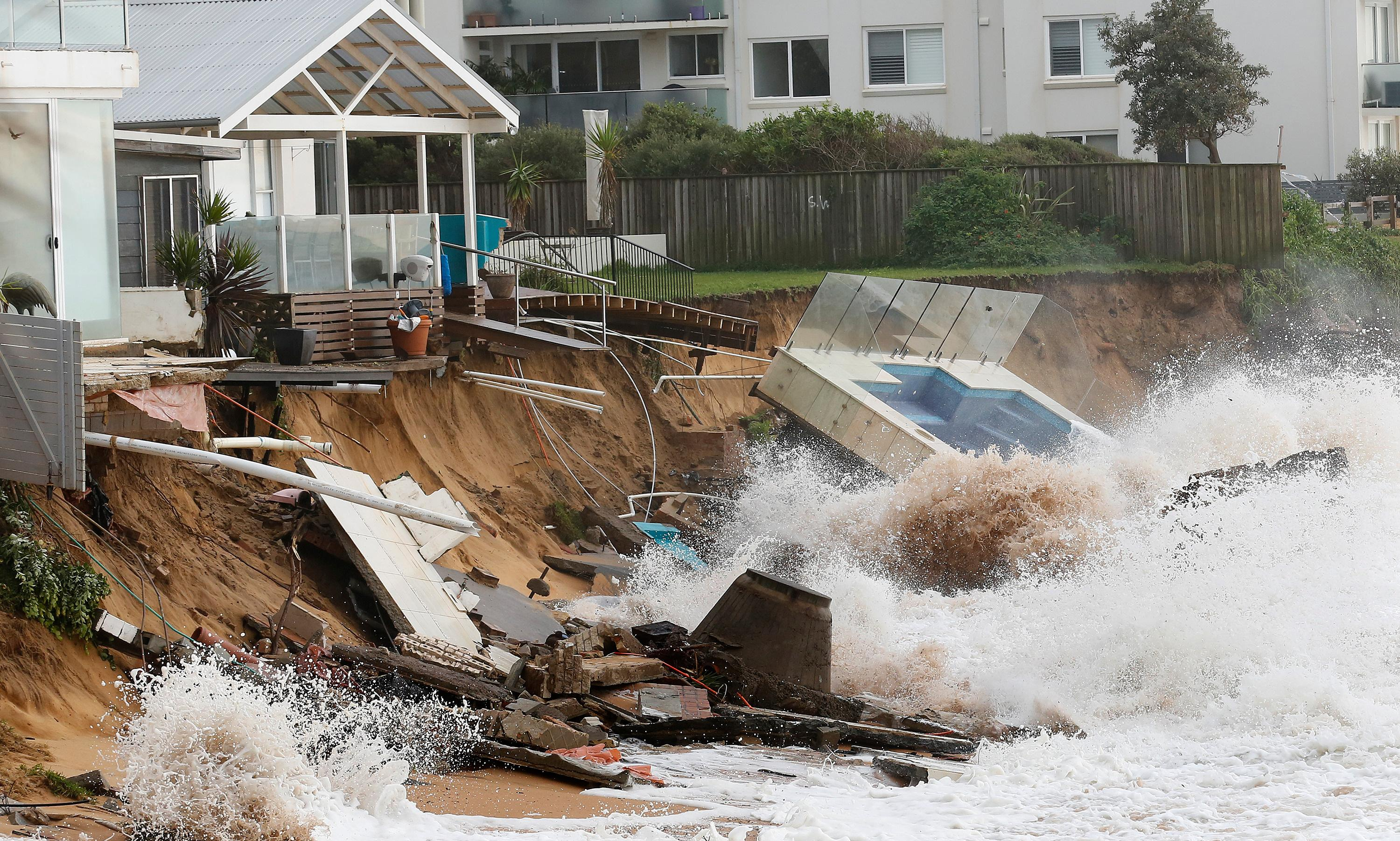 Holding back the tides: Sydney's battle against coastal erosion