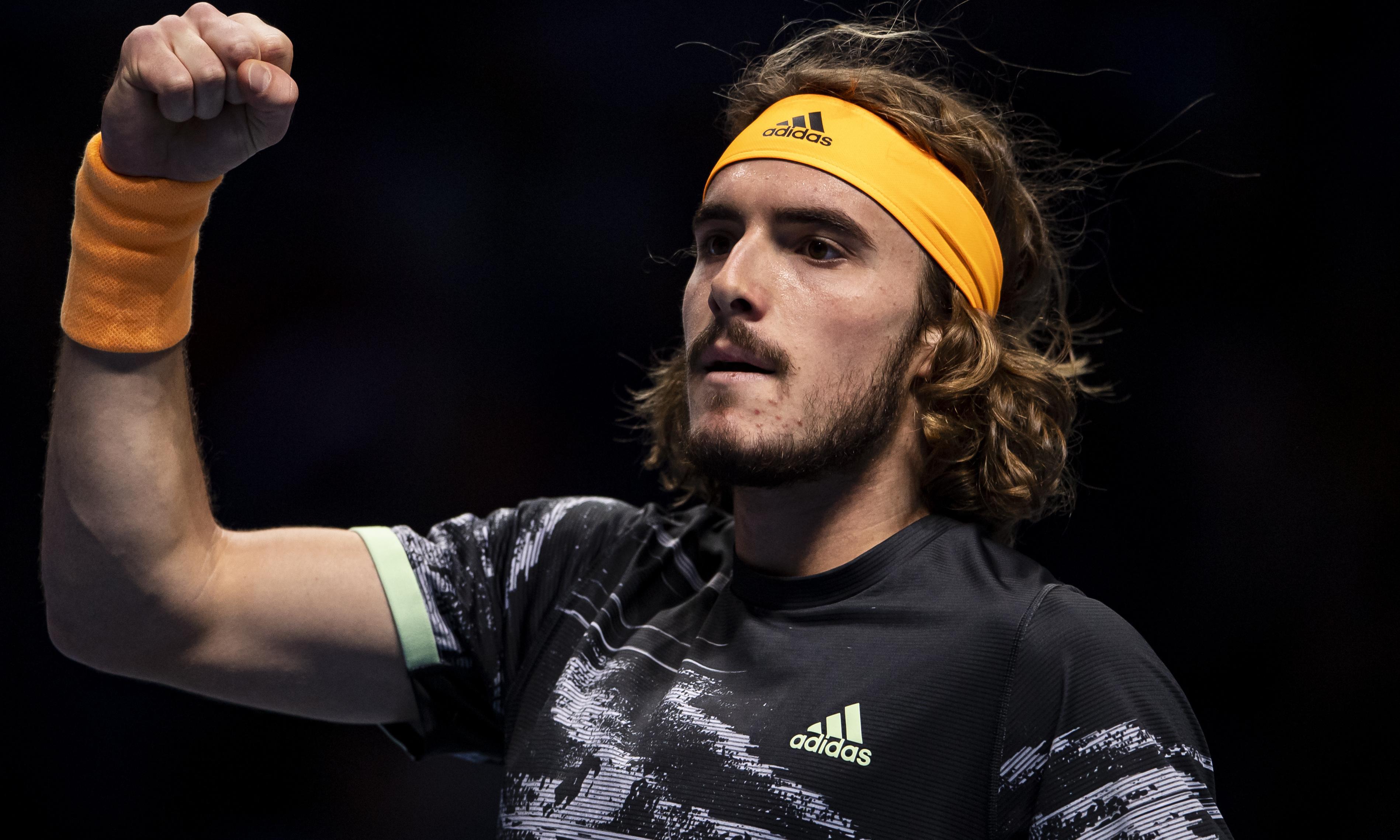 Stefanos Tsitsipas overcomes Roger Federer to reach final of ATP Finals