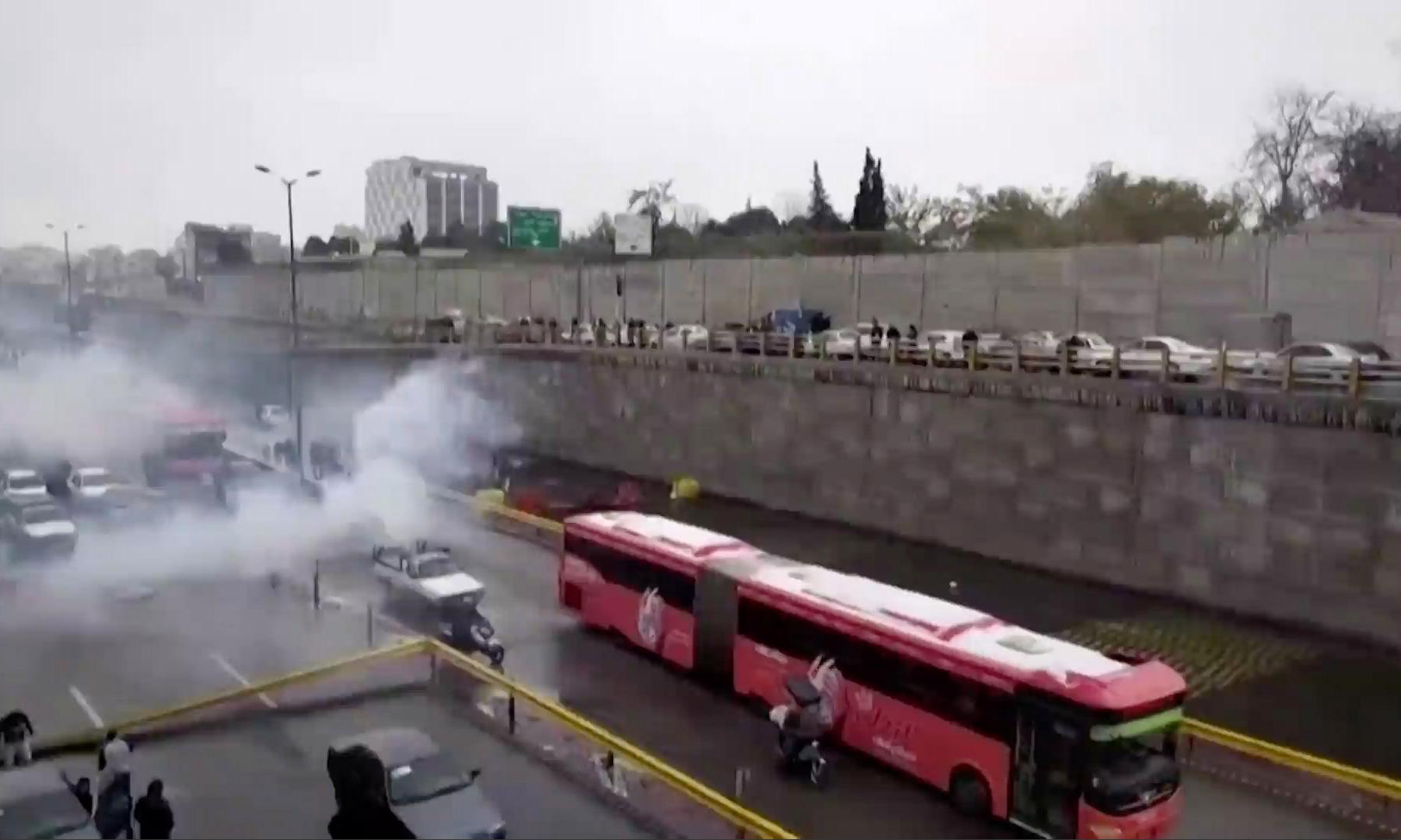 Blocked roads then bullets: Iran's brutal crackdown in its City of Roses