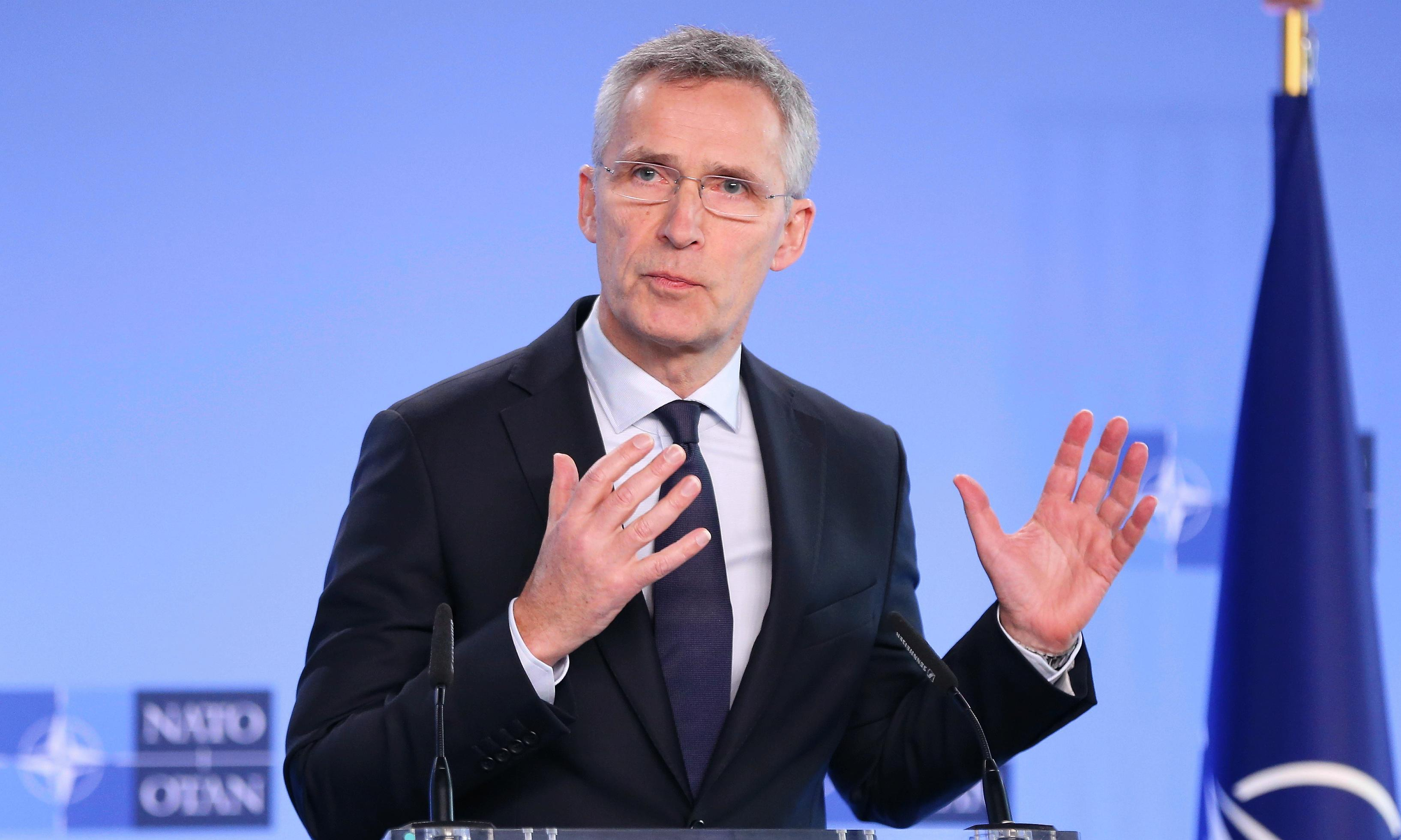 Nato expresses 'full solidarity' with Turkey over Syria airstrikes