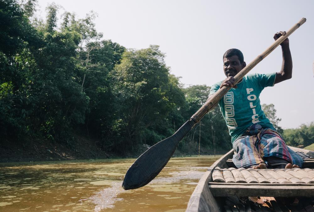 Fisherman Chandra Das