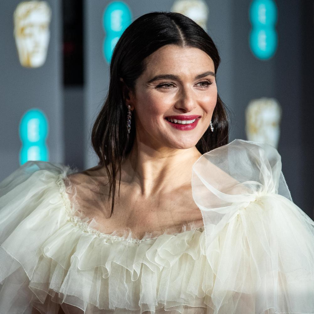 Rachel Weisz in her Gucci gown at the 2019 Baftas ceremony