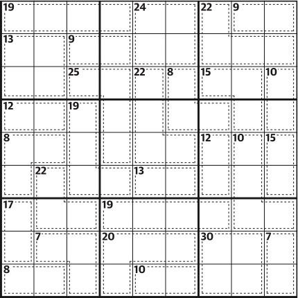 Killer sudoku 645