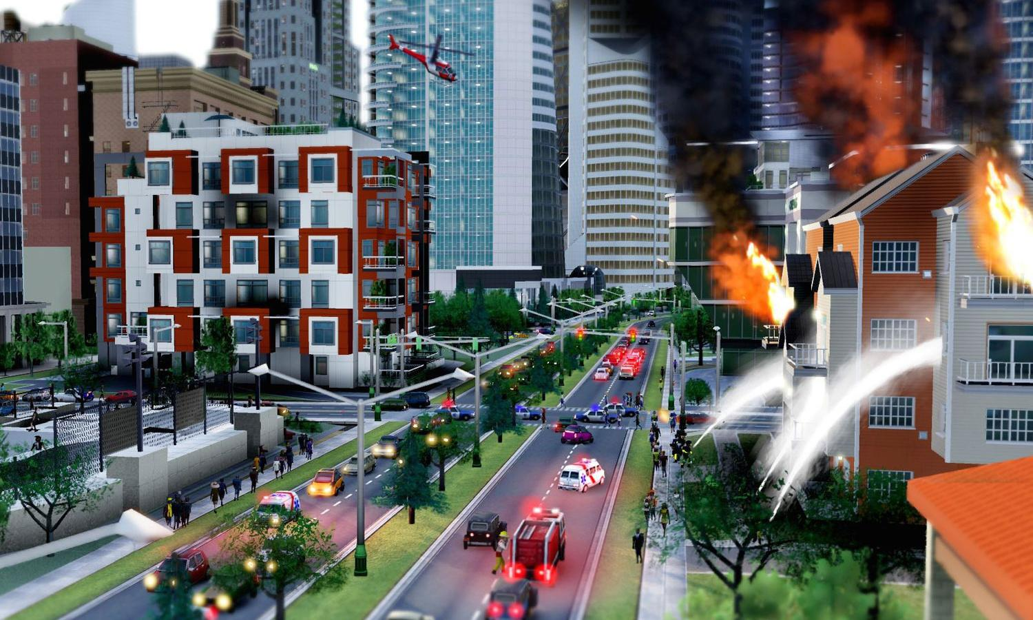 What's the best way to halt the march of urban decay? Playing SimCity