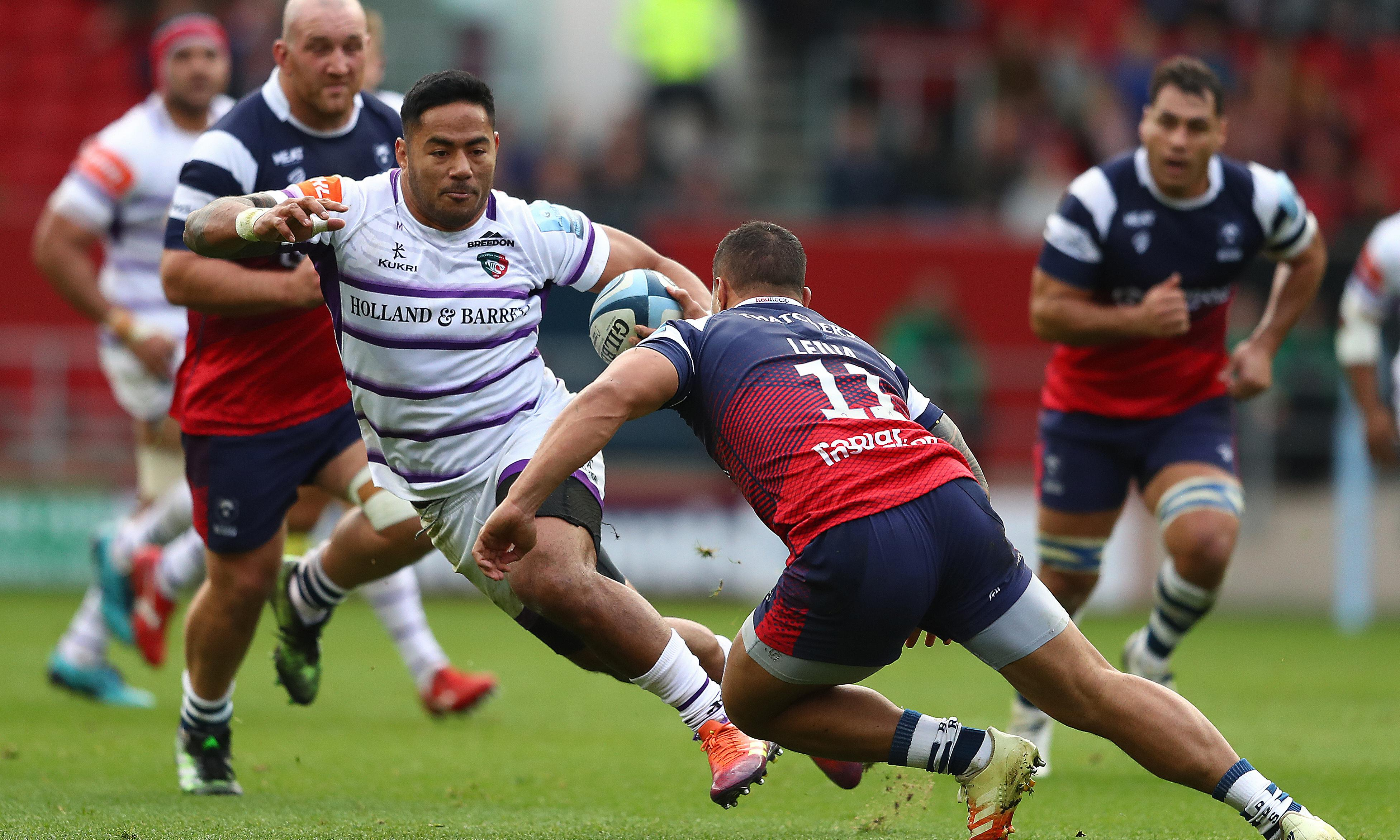 Manu Tuilagi: 'I always expect to be good and that is the pressure'