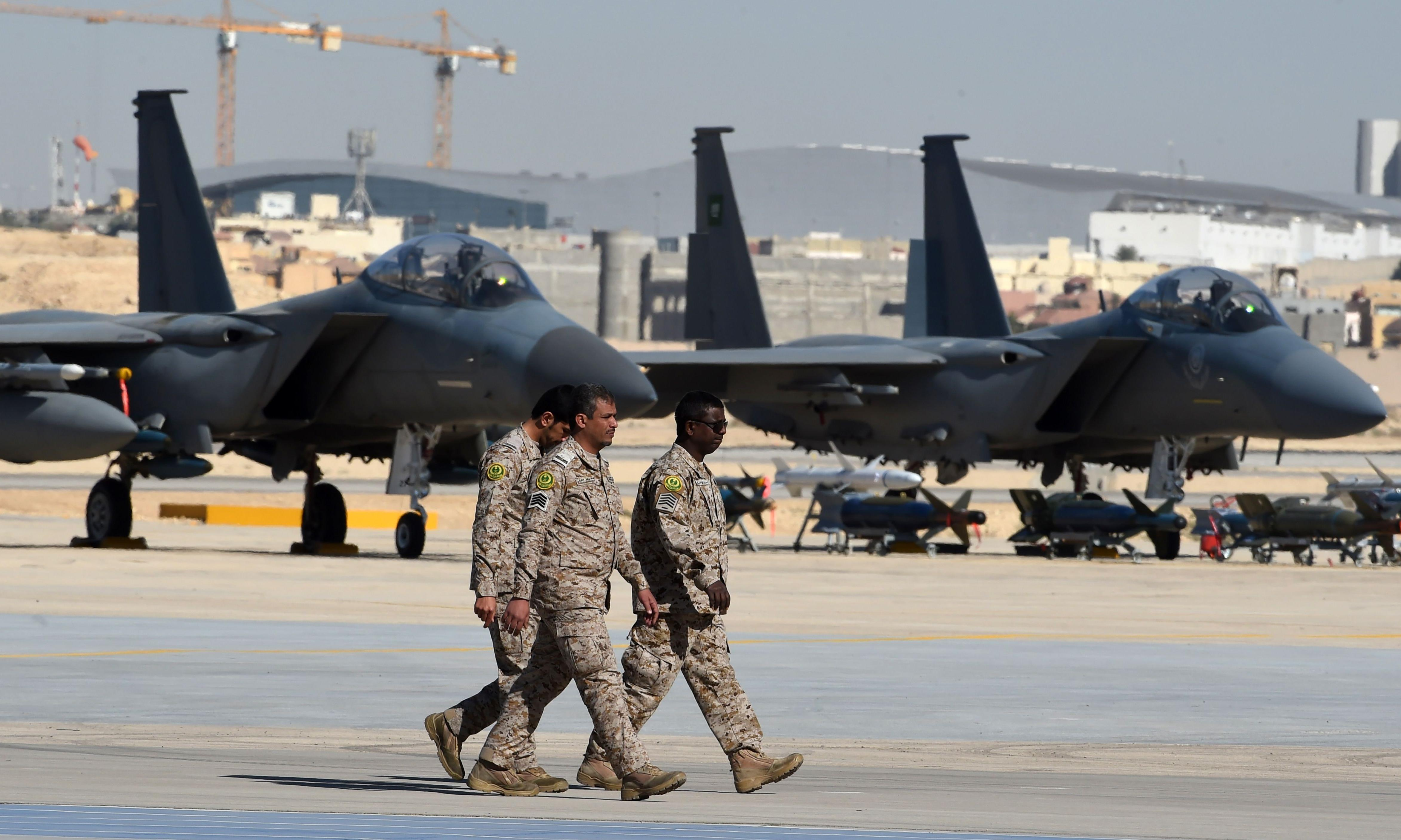 Nearly half of US arms exports go to the Middle East