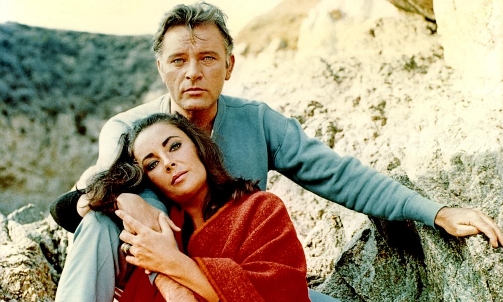 Famous friends: Elizabeth Taylor and Richard Burton.