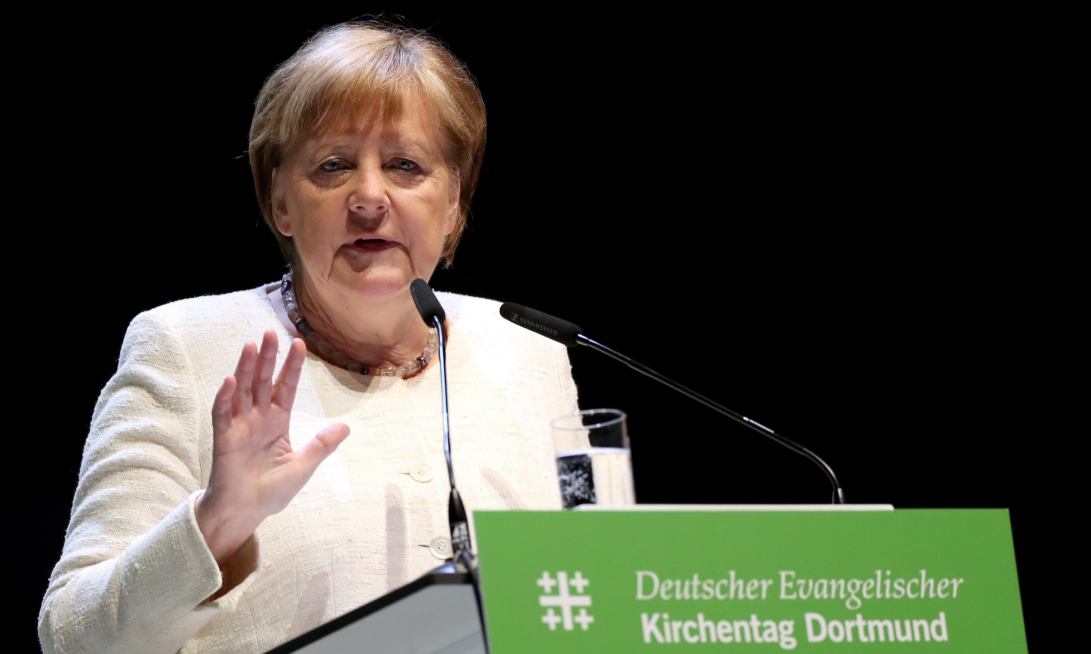 Merkel: rightwing extremism must be fought 'without any taboo'